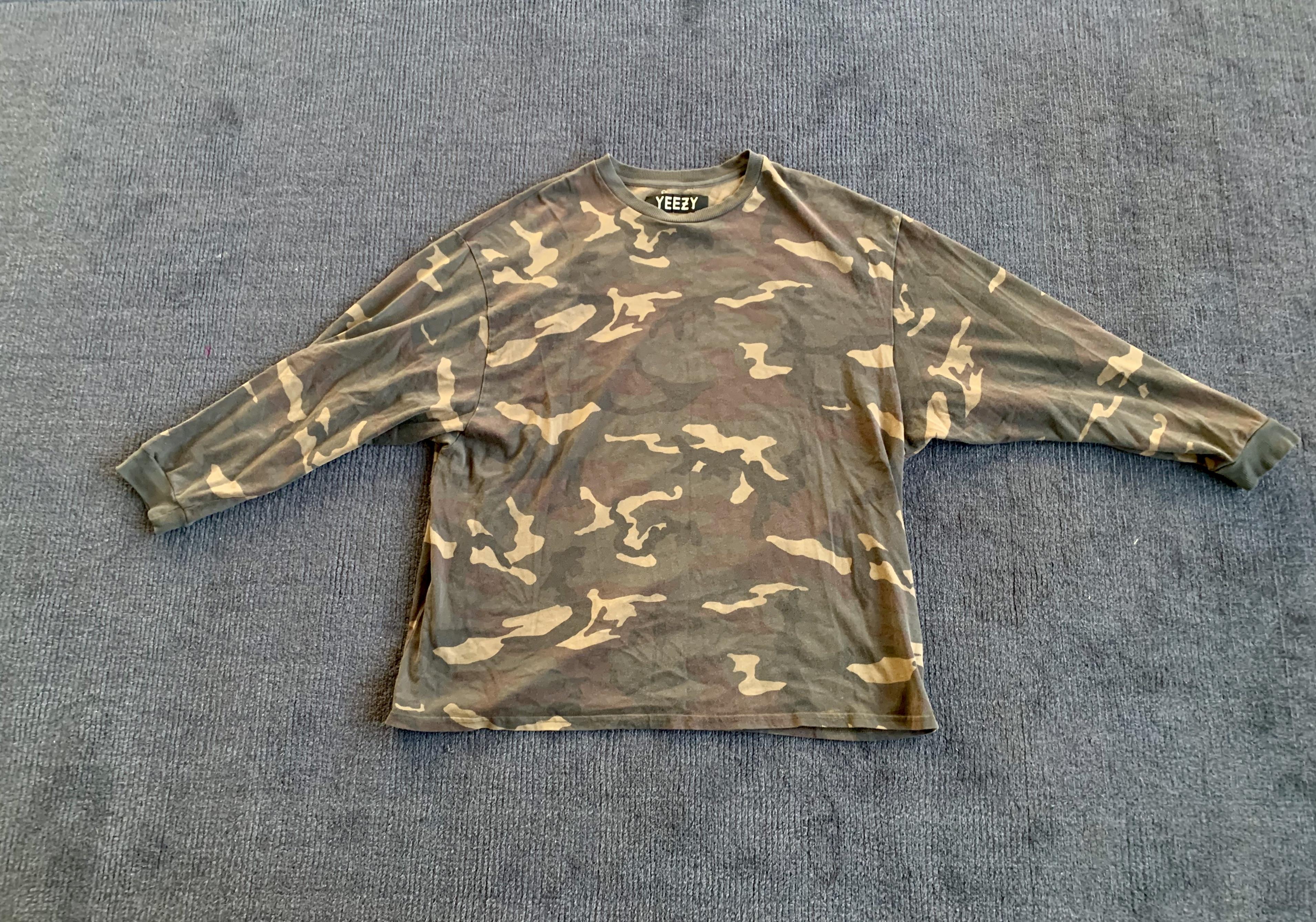 camouflage yeezy
