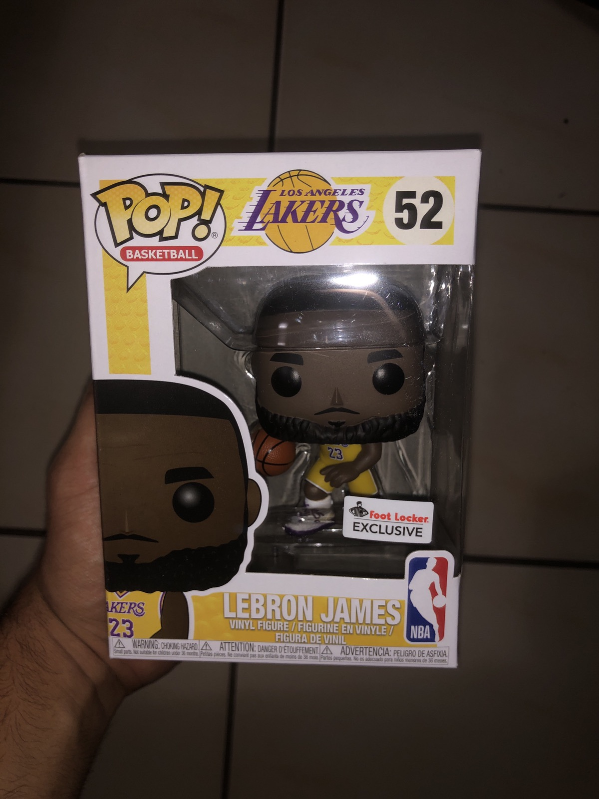 c54f72f13e2 Pop Boutique Lebron James Footlocker Exclusive Funko Size one size -  Miscellaneous for Sale - Grailed