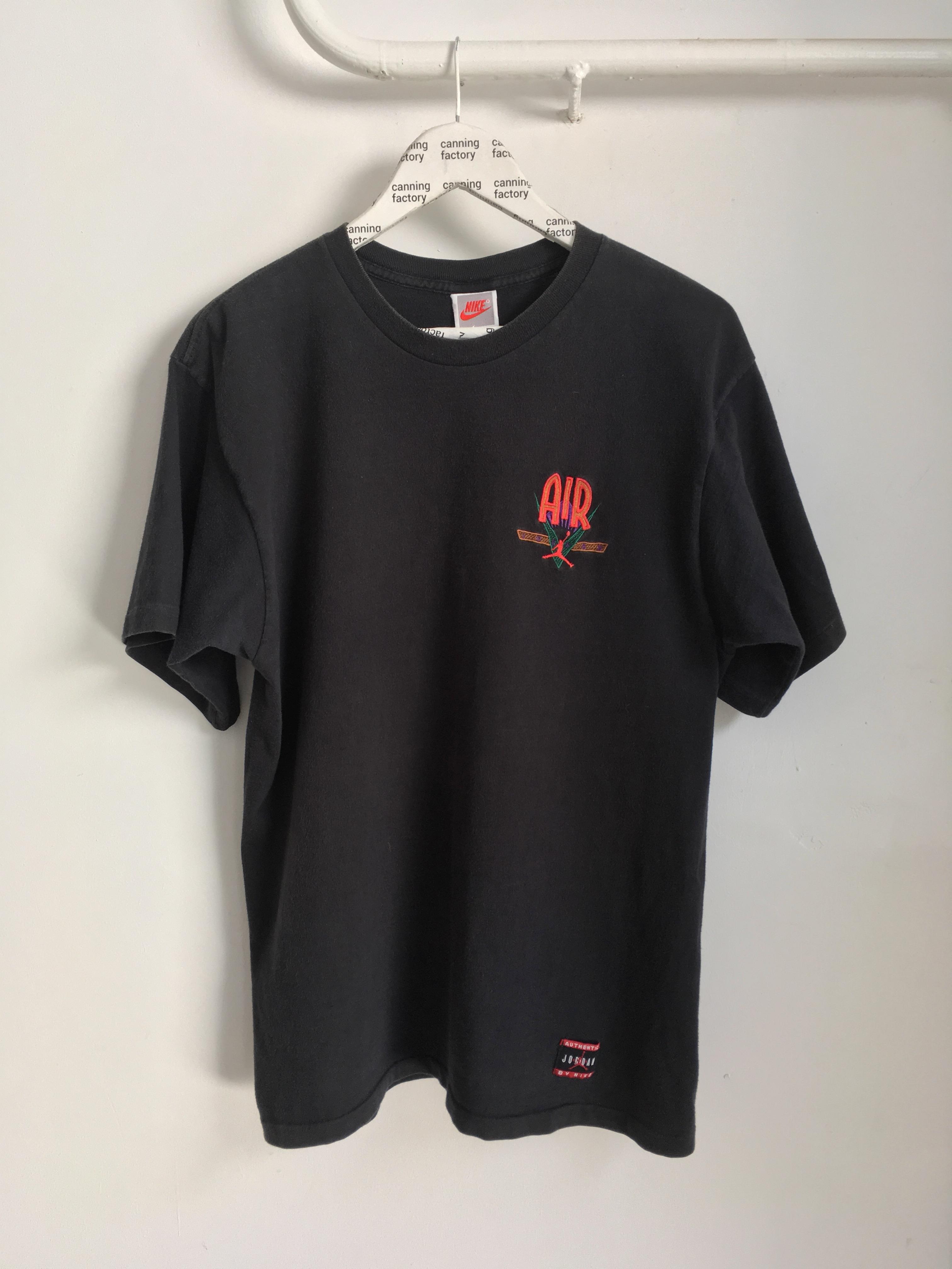 d4100cbe08ed Nike  last Drop  Vintage Nike Air Jordan T-shirt Made In Usa