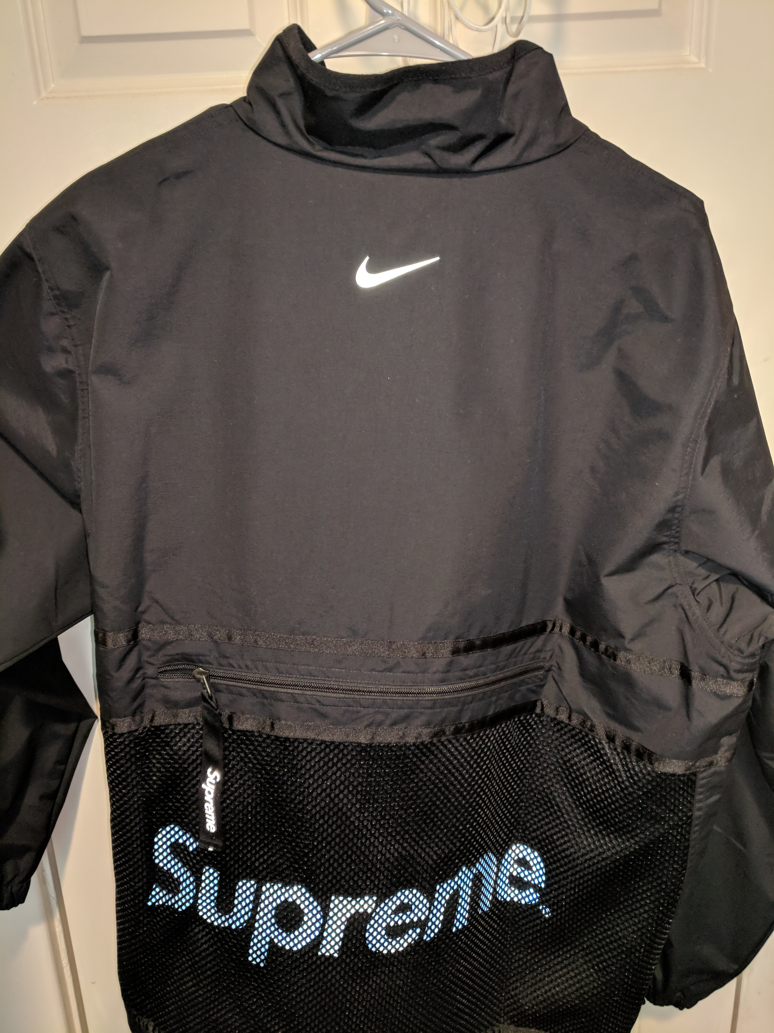 Supreme x Nike Trail Running Jacket Black