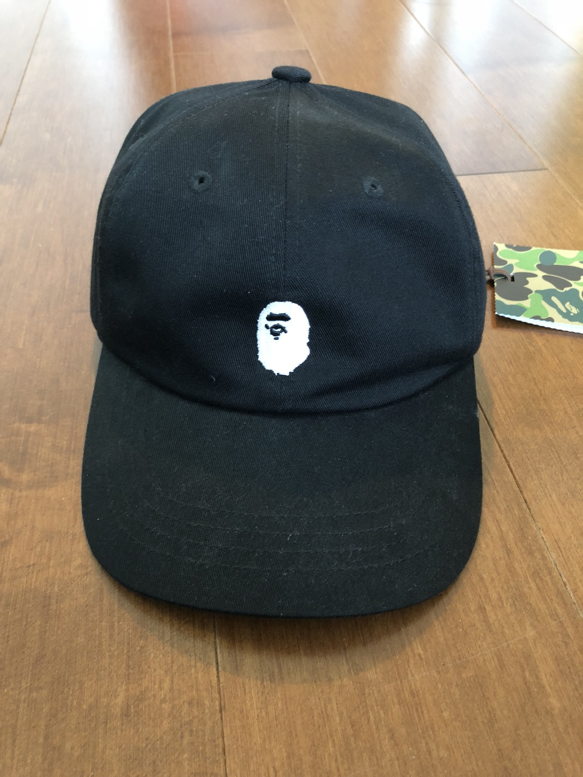 86bb81c85f8 Bape Ape Head Dad Hat Size one size - Hats for Sale - Grailed