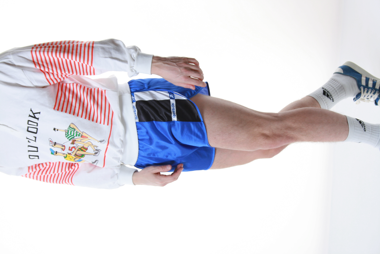 caa74a7b548bd 90s Vintage Reebok Sports Shorts Logo Running 13333