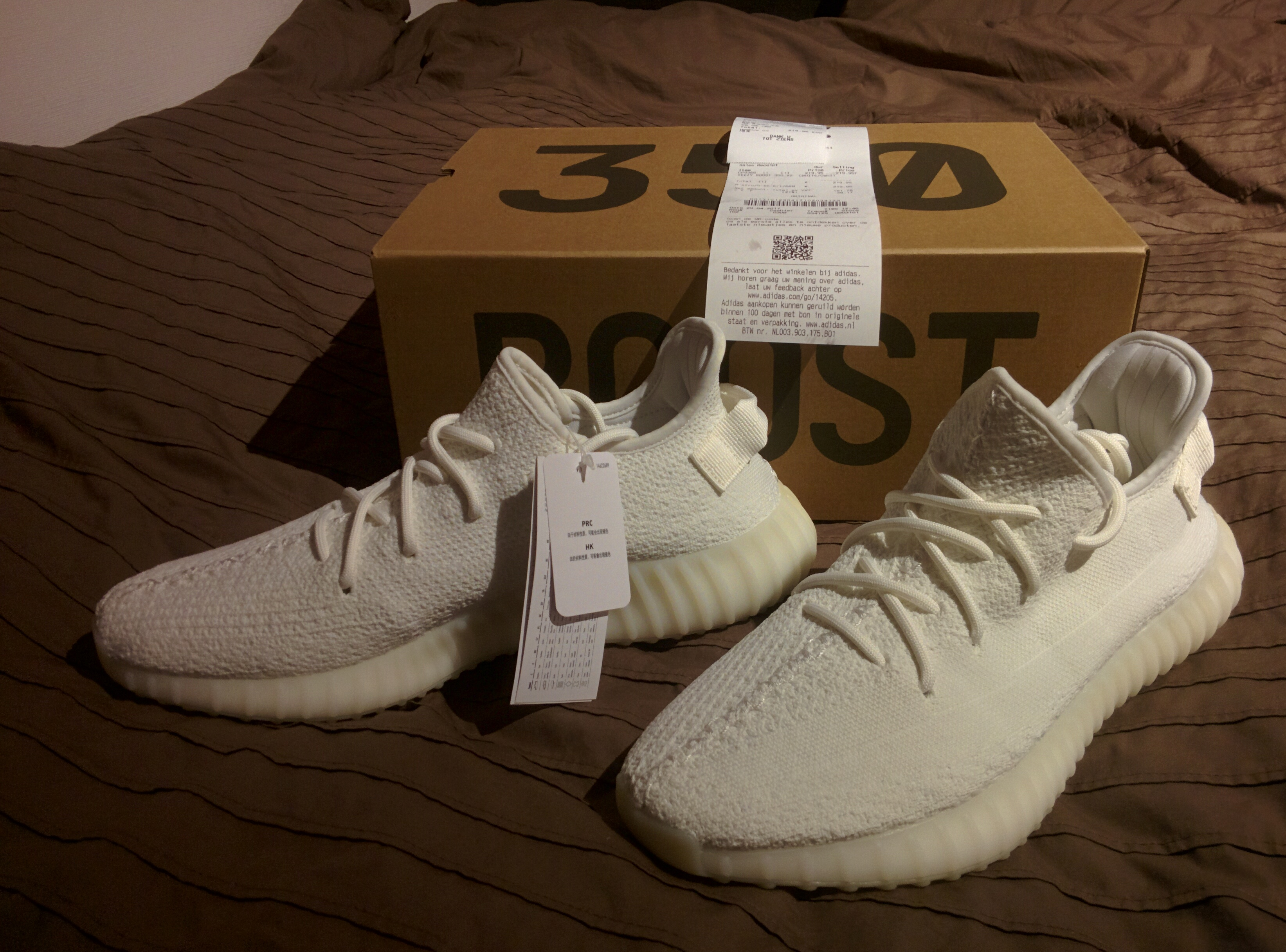 cddea8617 Yeezy Boost Yeezy Boost 350 V2 Cream White (US11.5) Size 11.5 - Low ...