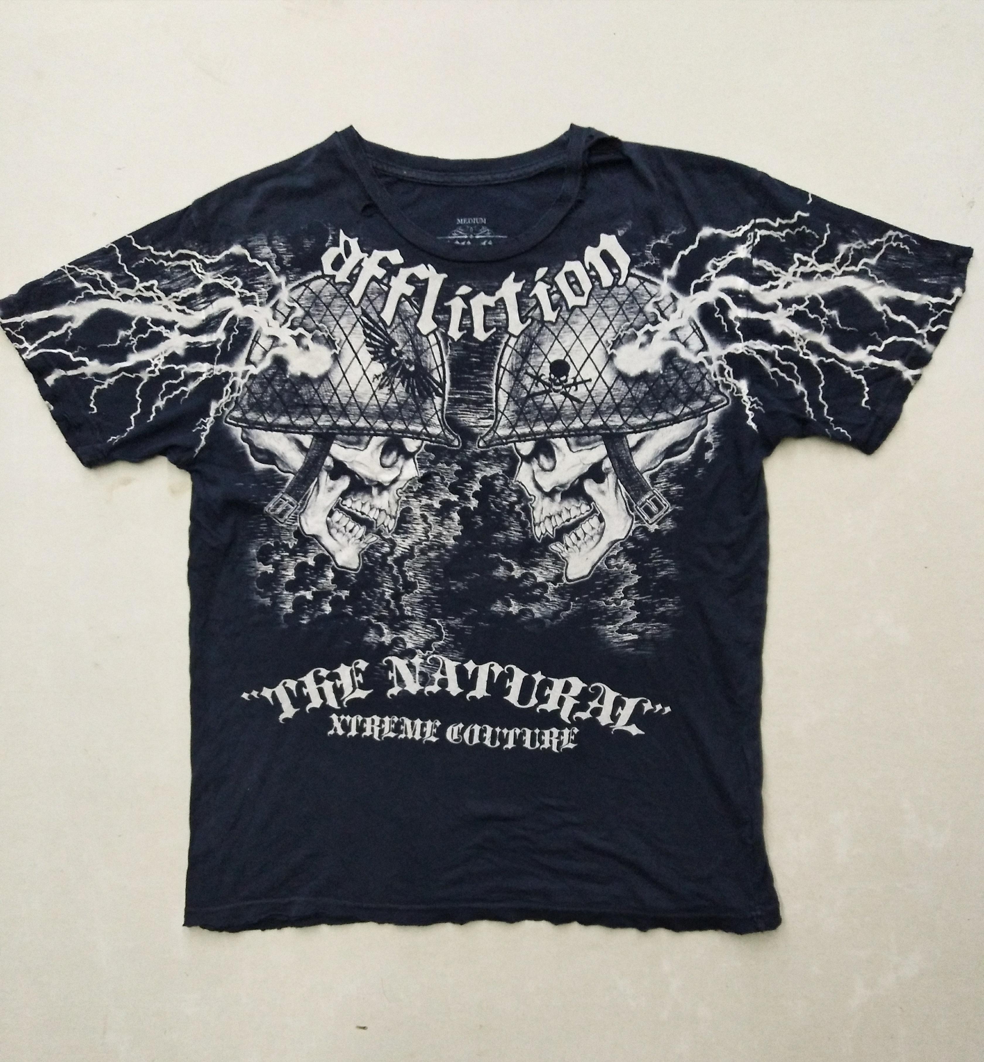 Affliction Rare Affliction Tshirt Signature Siries X Randy