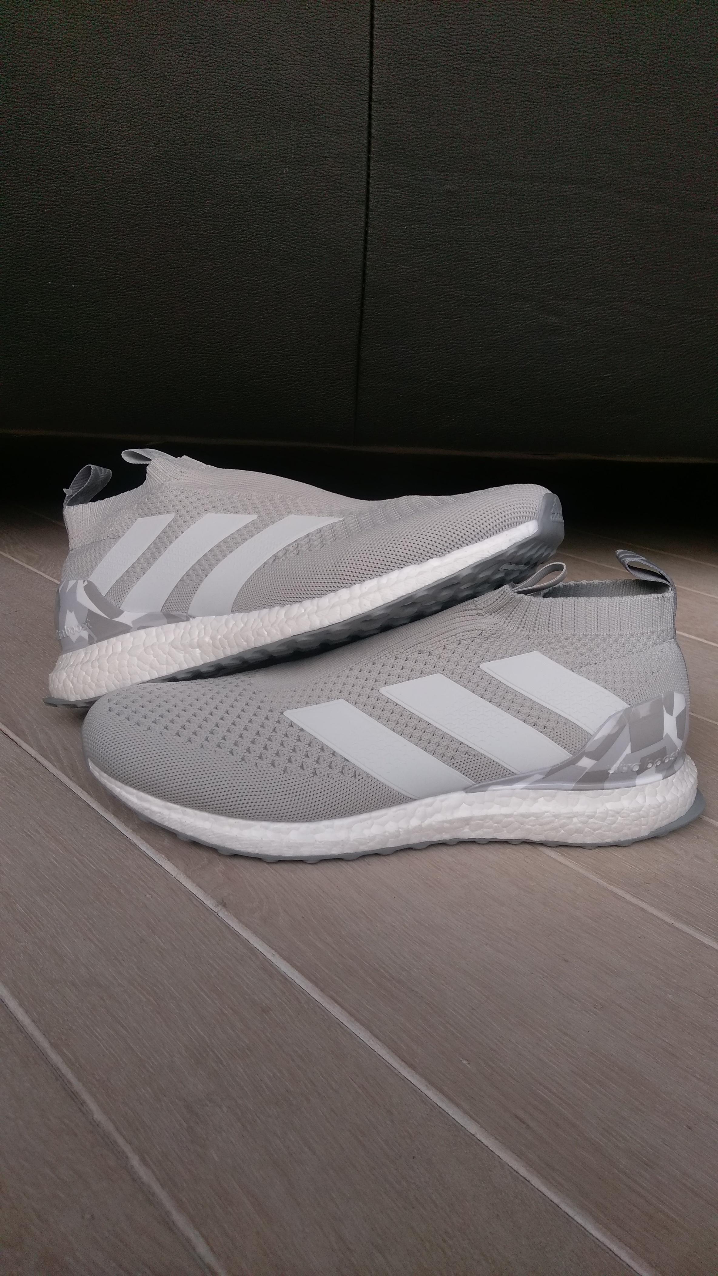 big sale 908e2 2f989 Adidas. Adidas Ace 16+ PureControl Ultra Boost (Camo Grey)