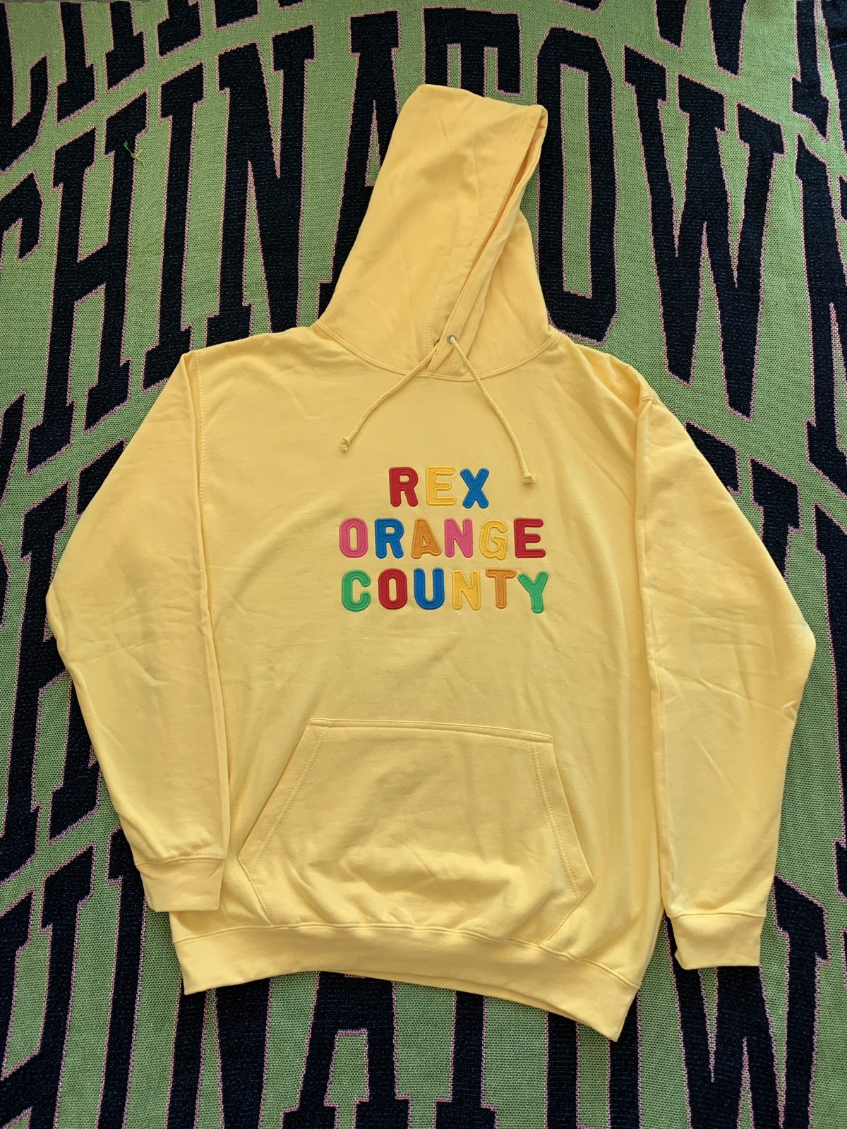 Rex Orange County Canary Yellow Hoodie