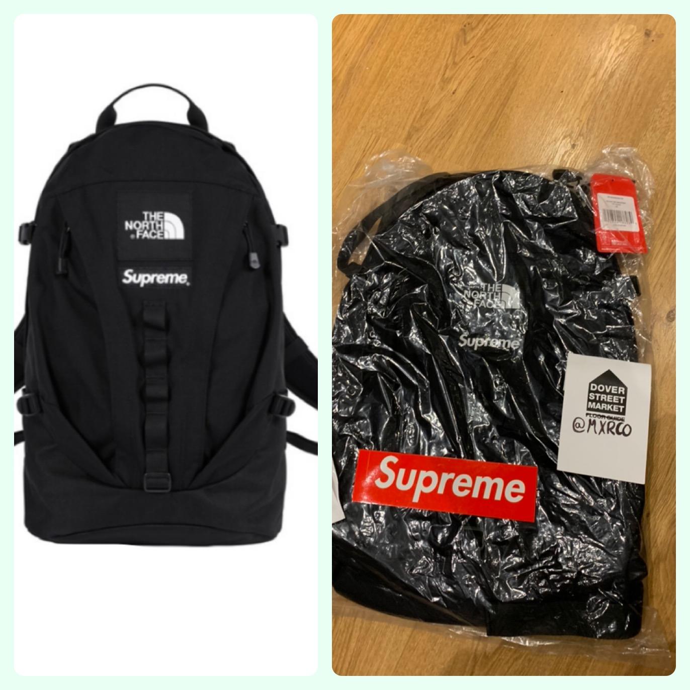 022e638835f Supreme Supreme X The North Face Tnf Backpack Black