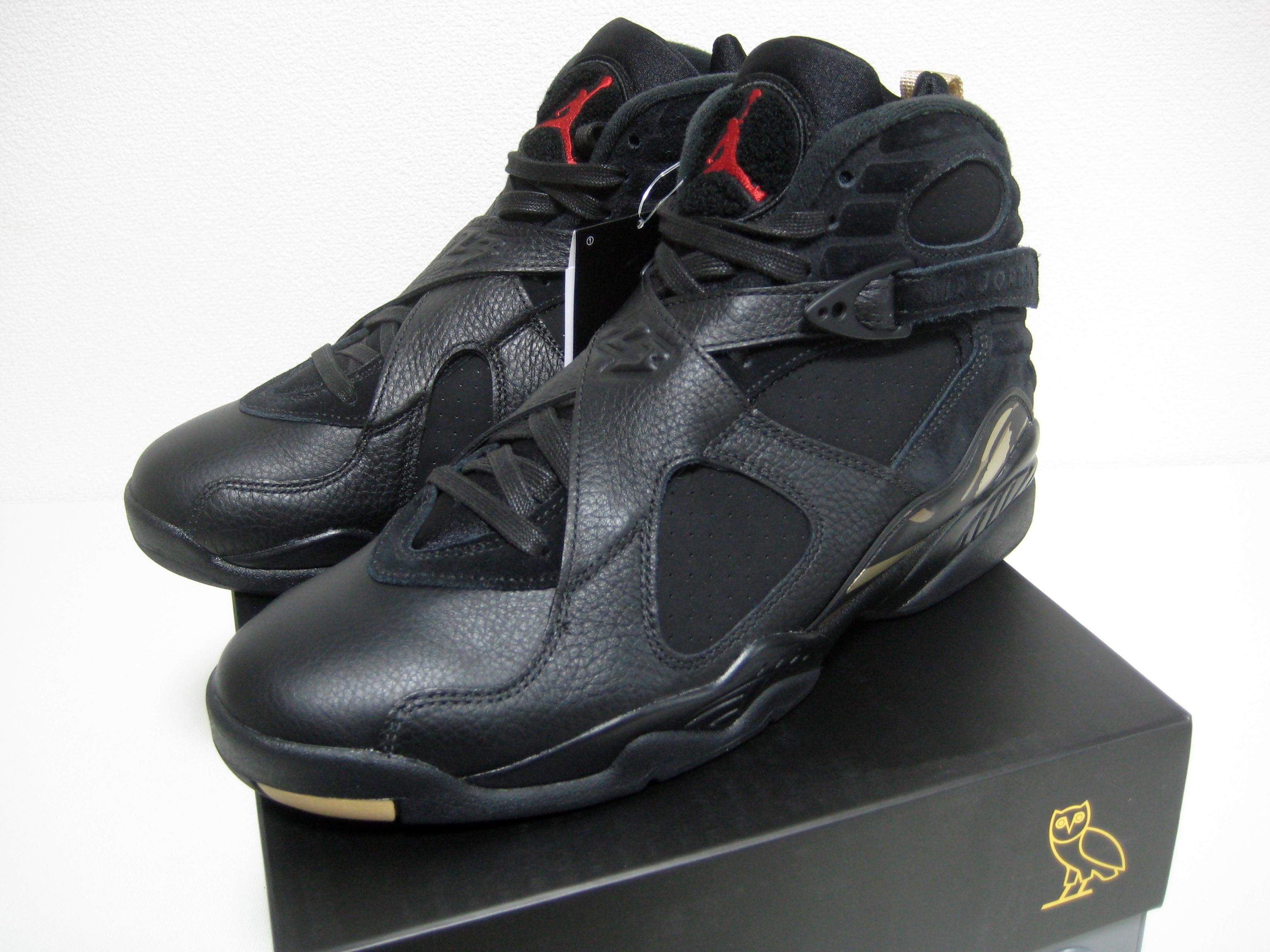 91430ce04fadc5 Jordan Brand NIKE AIR JORDAN 8 VIII RETRO OVO black US10 brand new ...