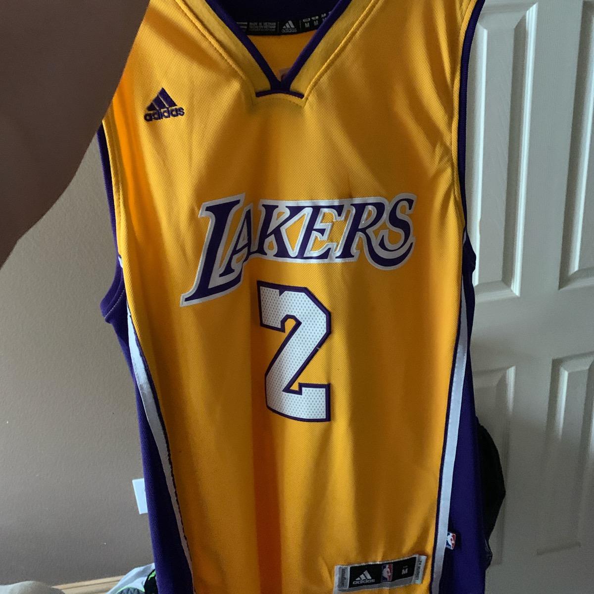 Adidas Lonzo Ball L.A. Lakers Jersey