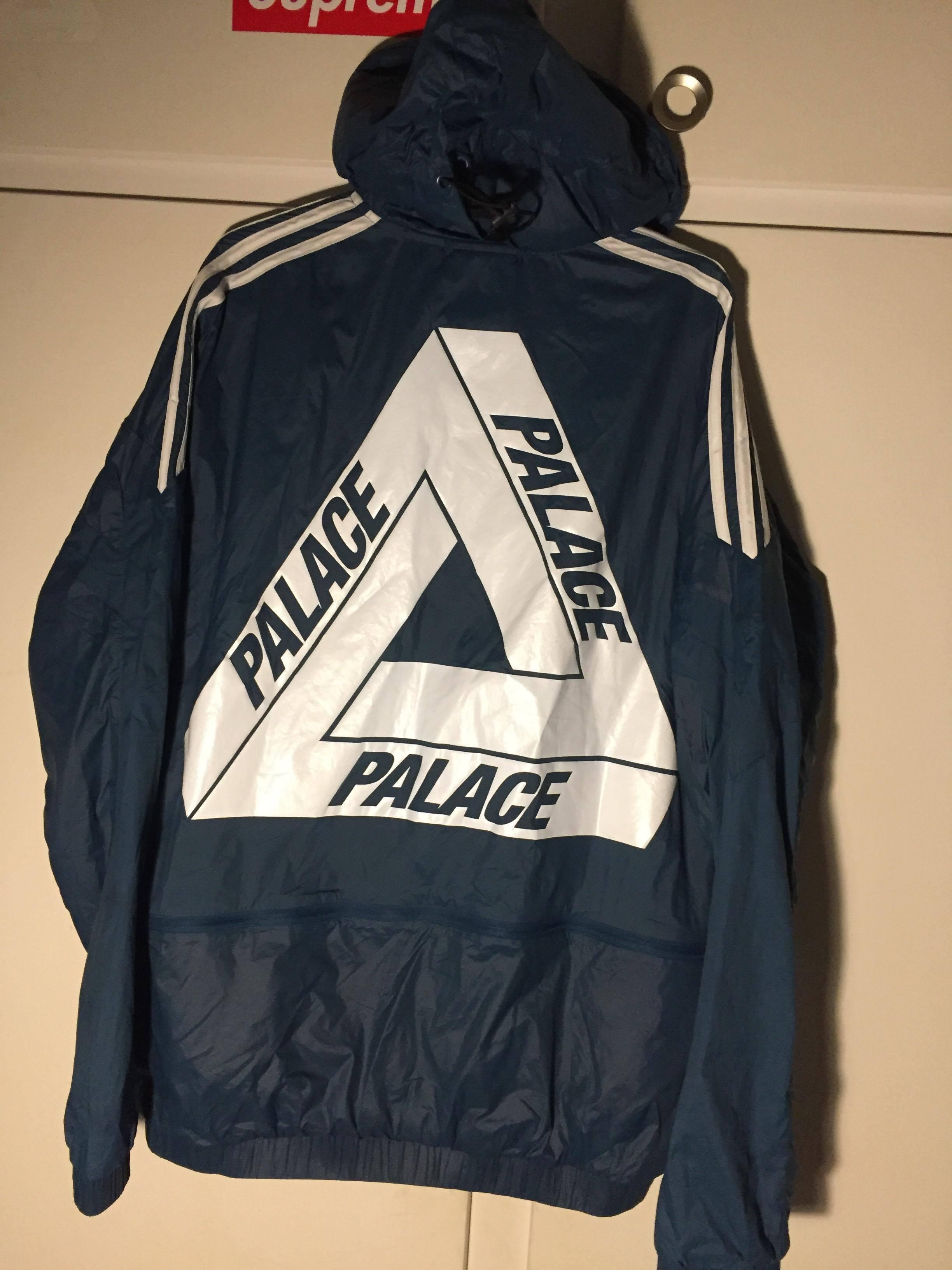 Palace x Adidas Jacket Surf Petrol