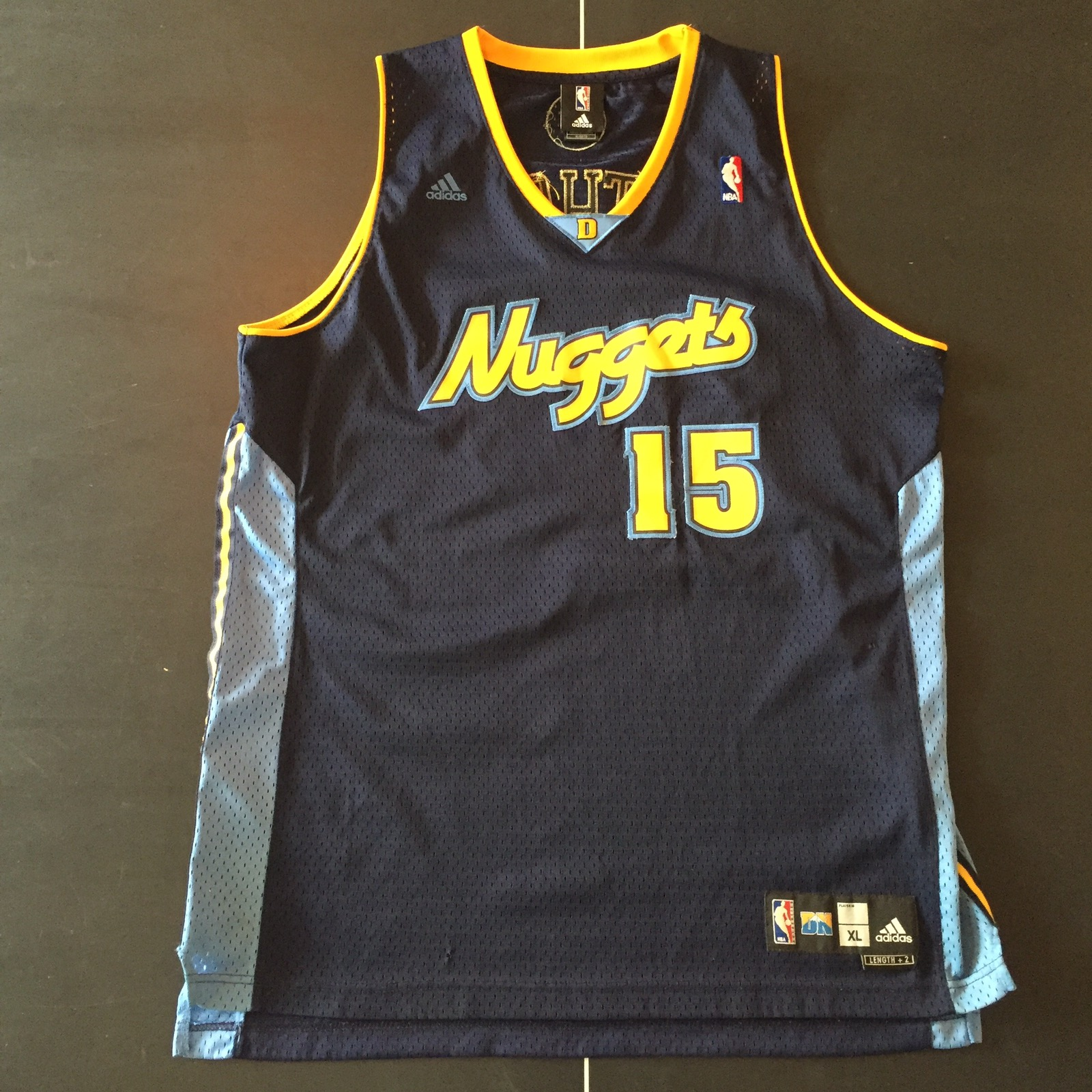 finest selection 1fba6 b97e2 Throwback Carmelo Anthony Denver Nuggets Jersey