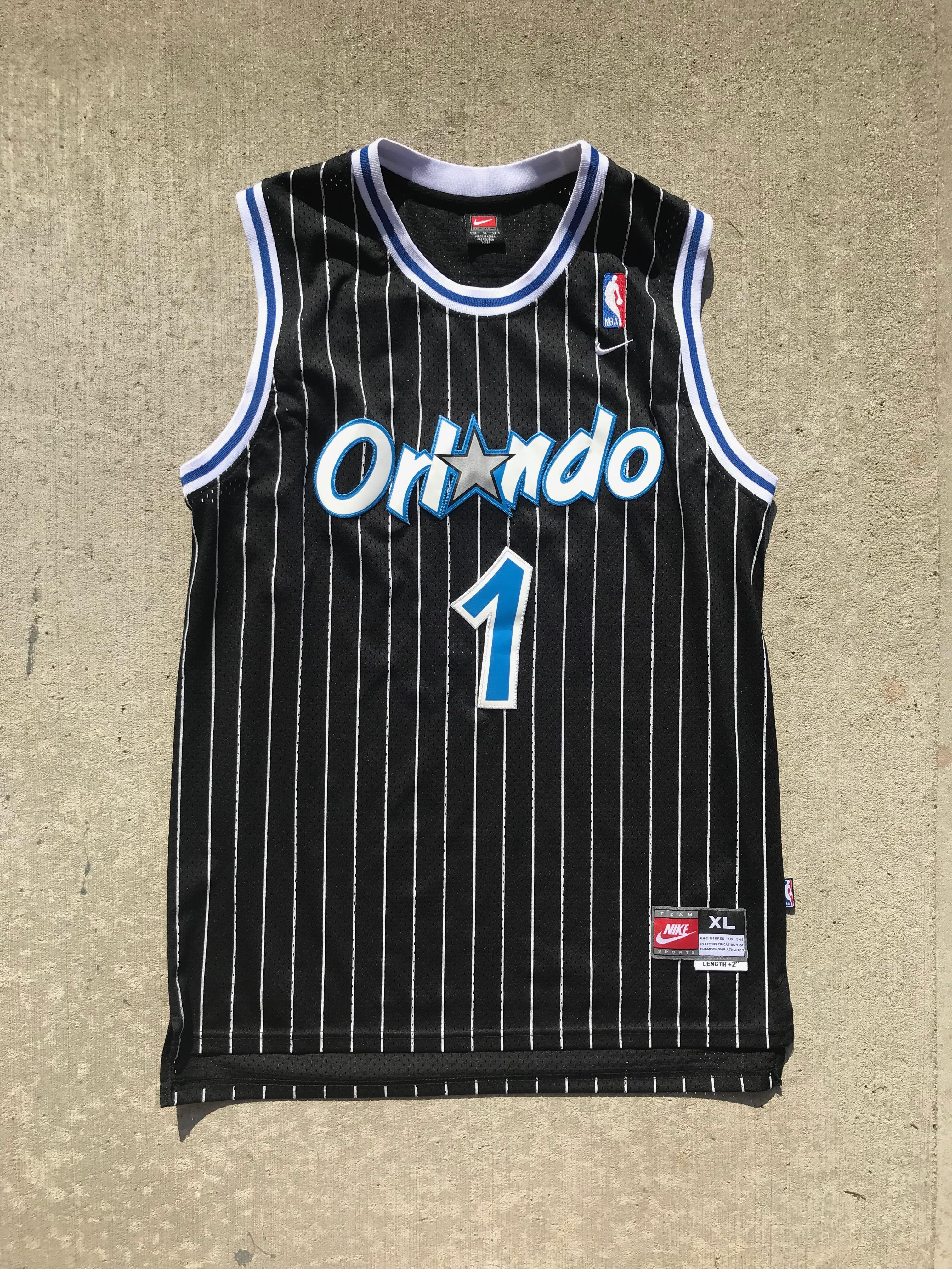 super popular 69ba9 2e2c6 Nike Vintage Orlando Magic Penny Hardaway Jersey