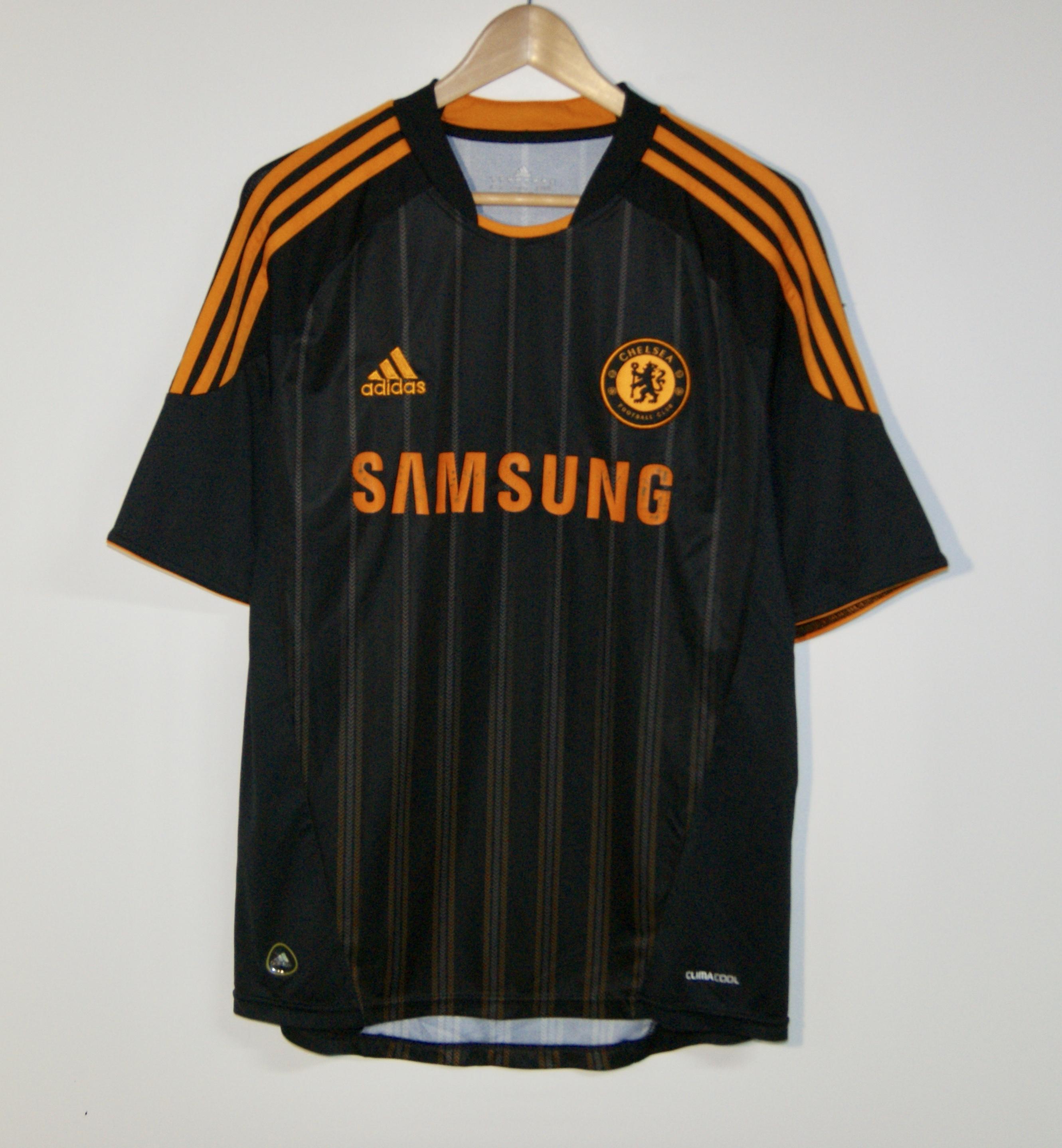 newest a810b 22508 Adidas-Drogba-CHELSEA-FC-Soccer-Football-Jersey