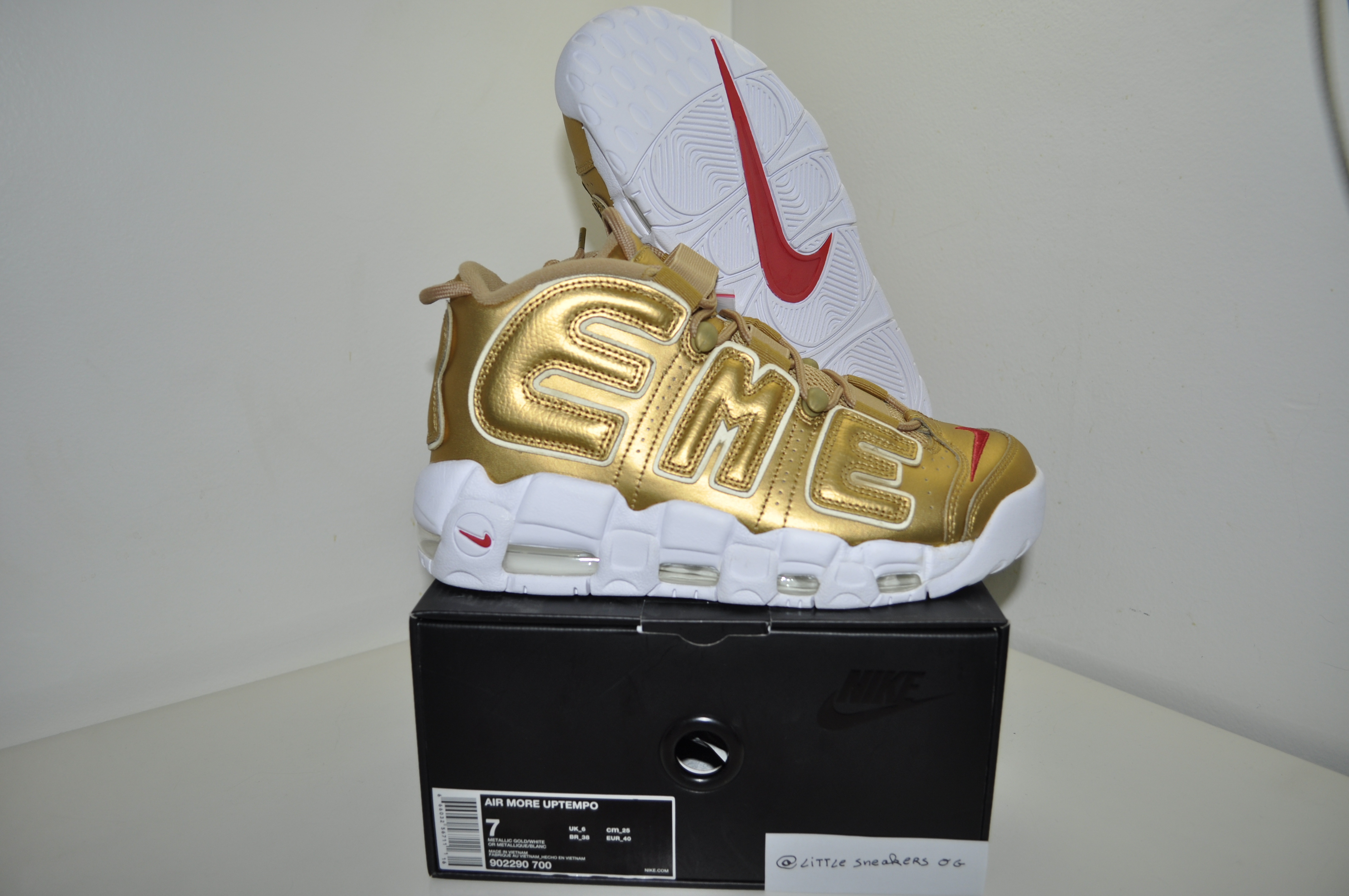 nike air uptempo size 7