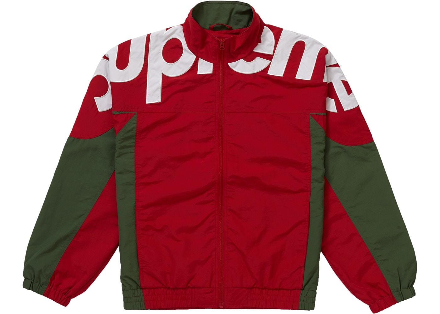 Supeme Jacket Supreme Shoulder Logo Track Jacket | Grailed