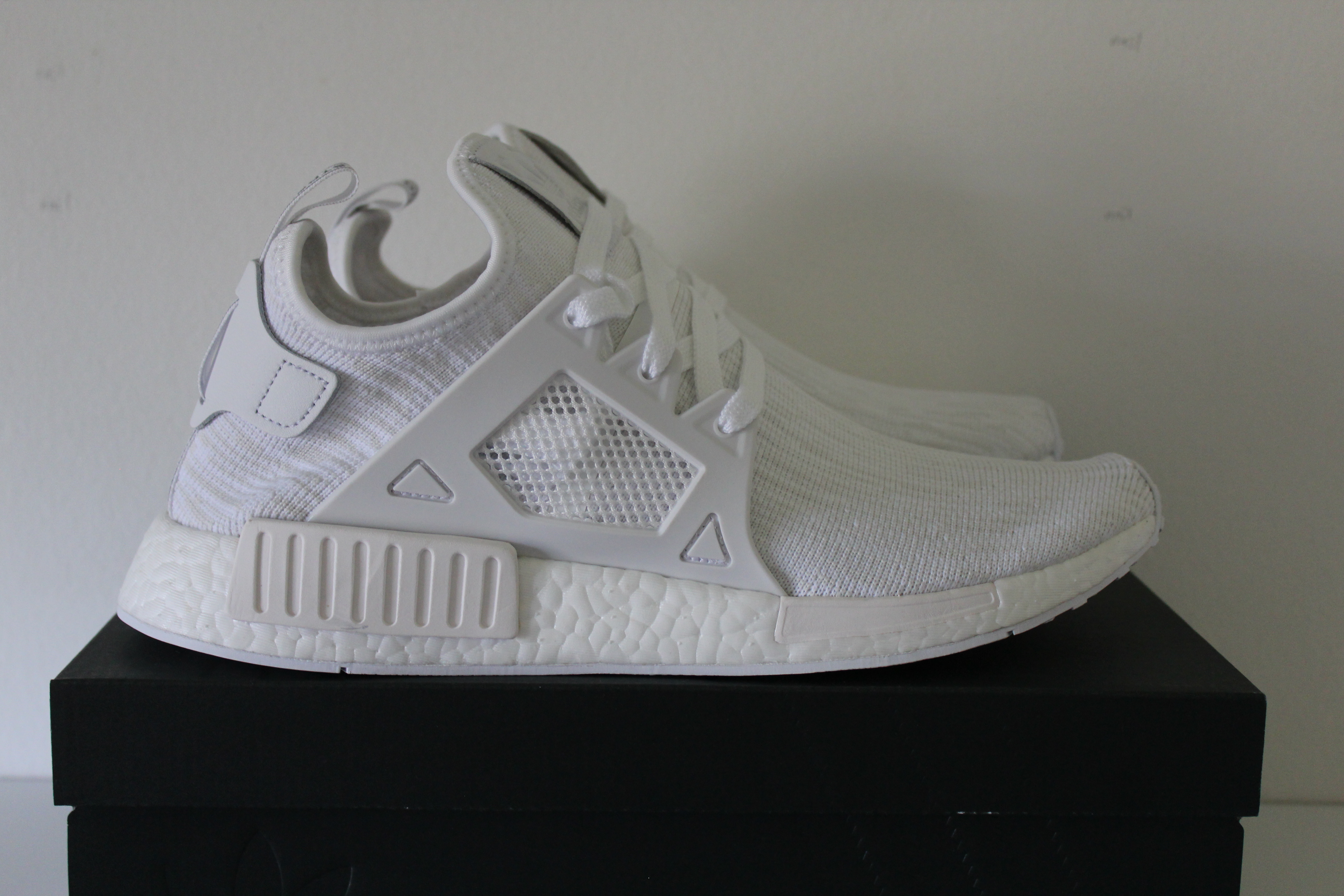 c798537d9cb8 Adidas Deadstock Adidas NMD XR1 Triple White Primeknit Size 11 - Low ...