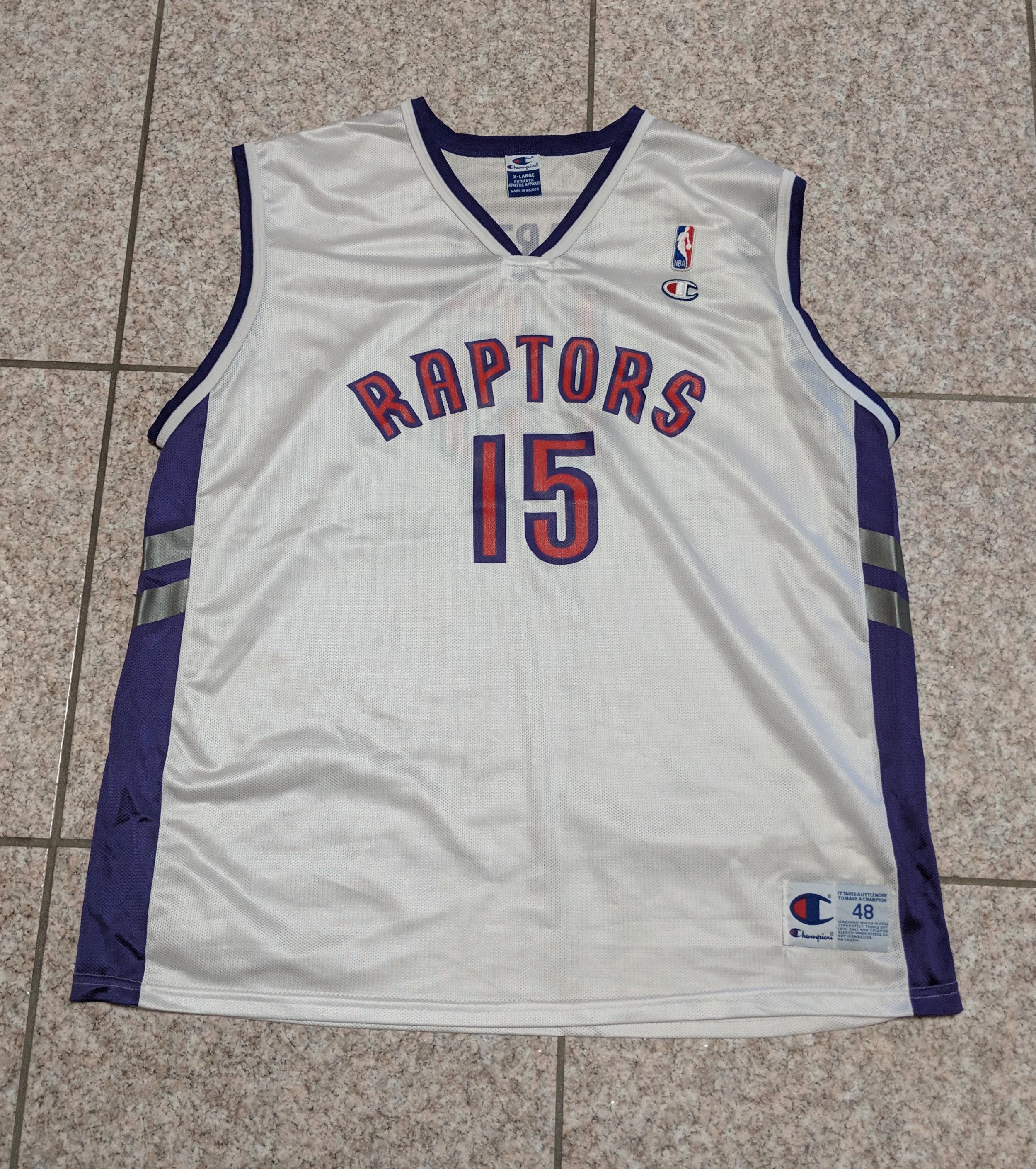 f1fbd3e0 Champion Vintage Champion Vince Carter Toronto Raptors Jersey | Grailed