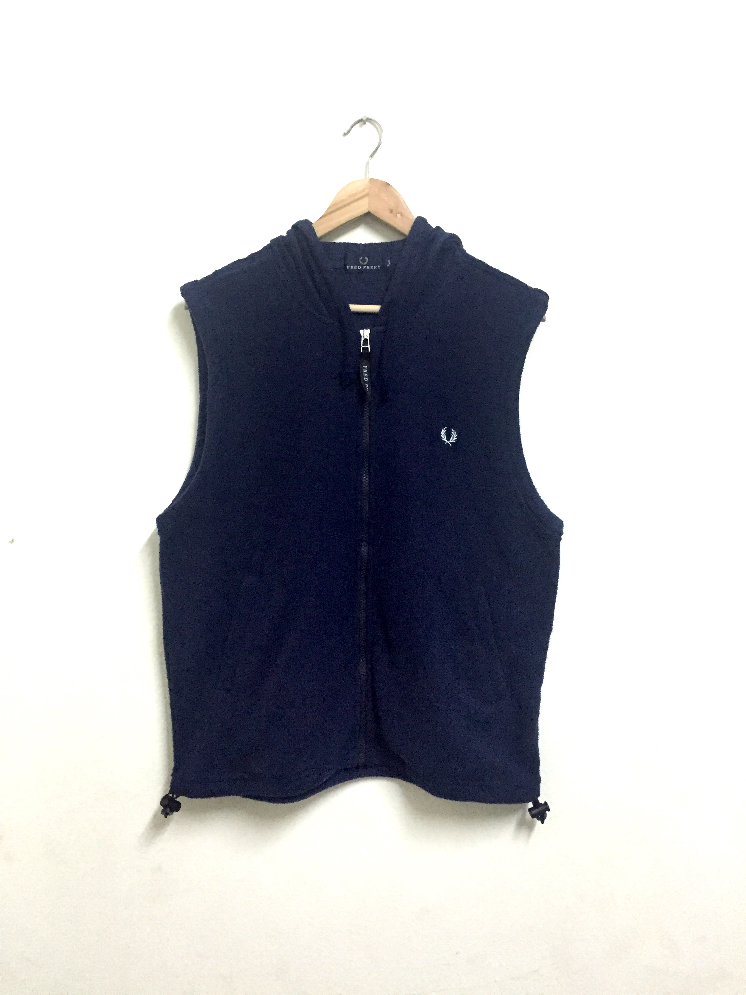 0d5cd3aca66c22 Fred Perry Vintage 90s Fred Perry Vest Hoodie Zipper Sweater . | Grailed