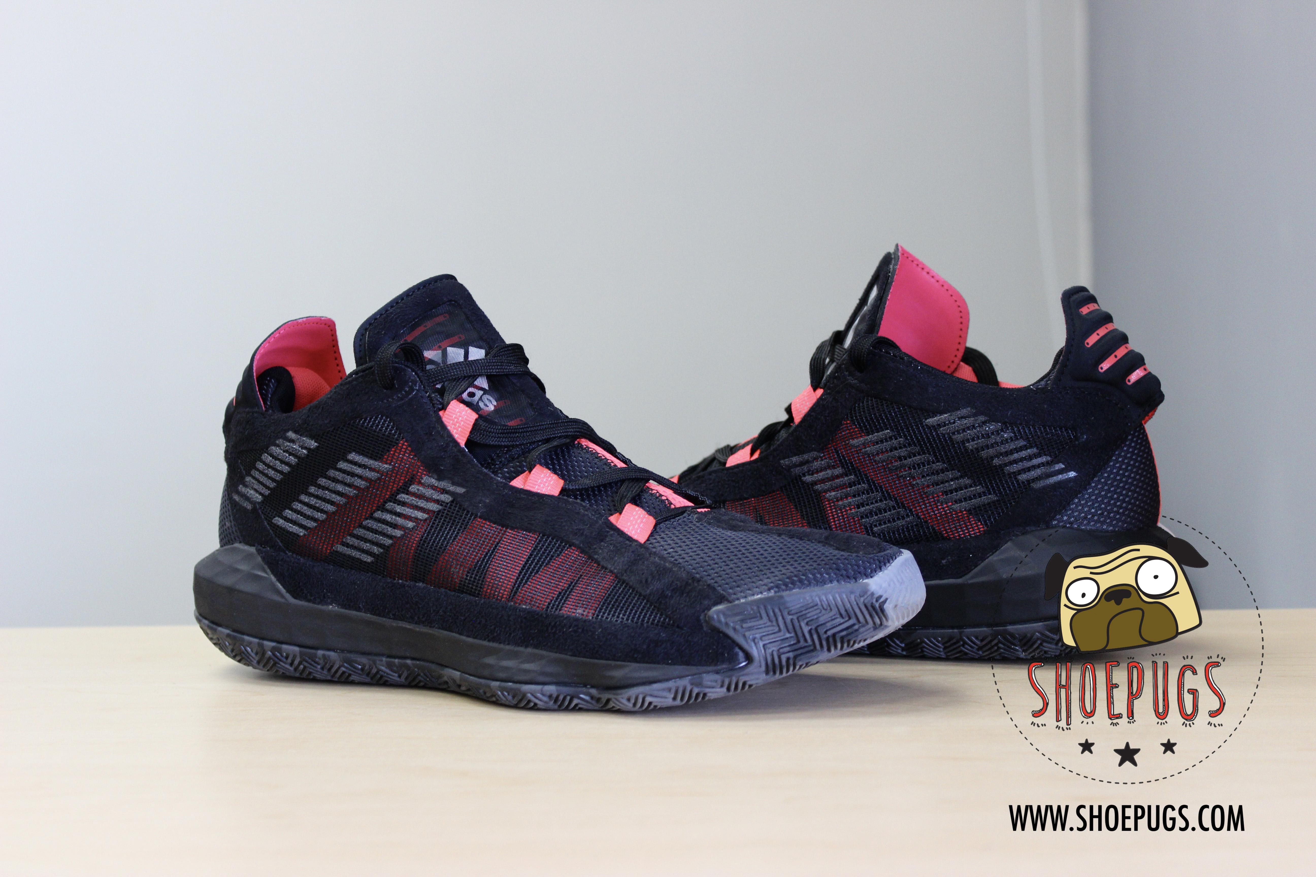 Adidas 2019 Adidas Dame 6 Black Red Damian Lillard Grailed