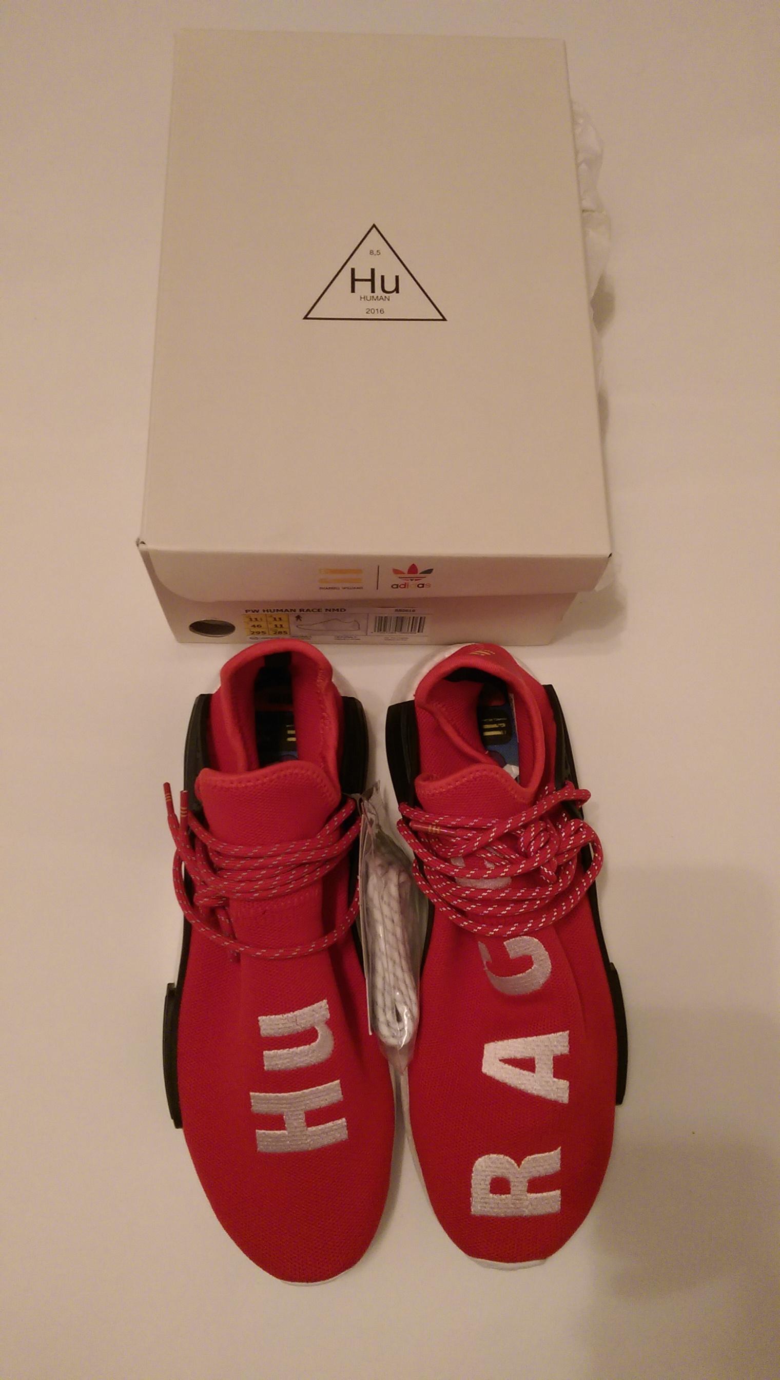 61d5ce47d60bc Adidas × Pharrell ×. Adidas NMD Pharrell HU Human Race Scarlet Red