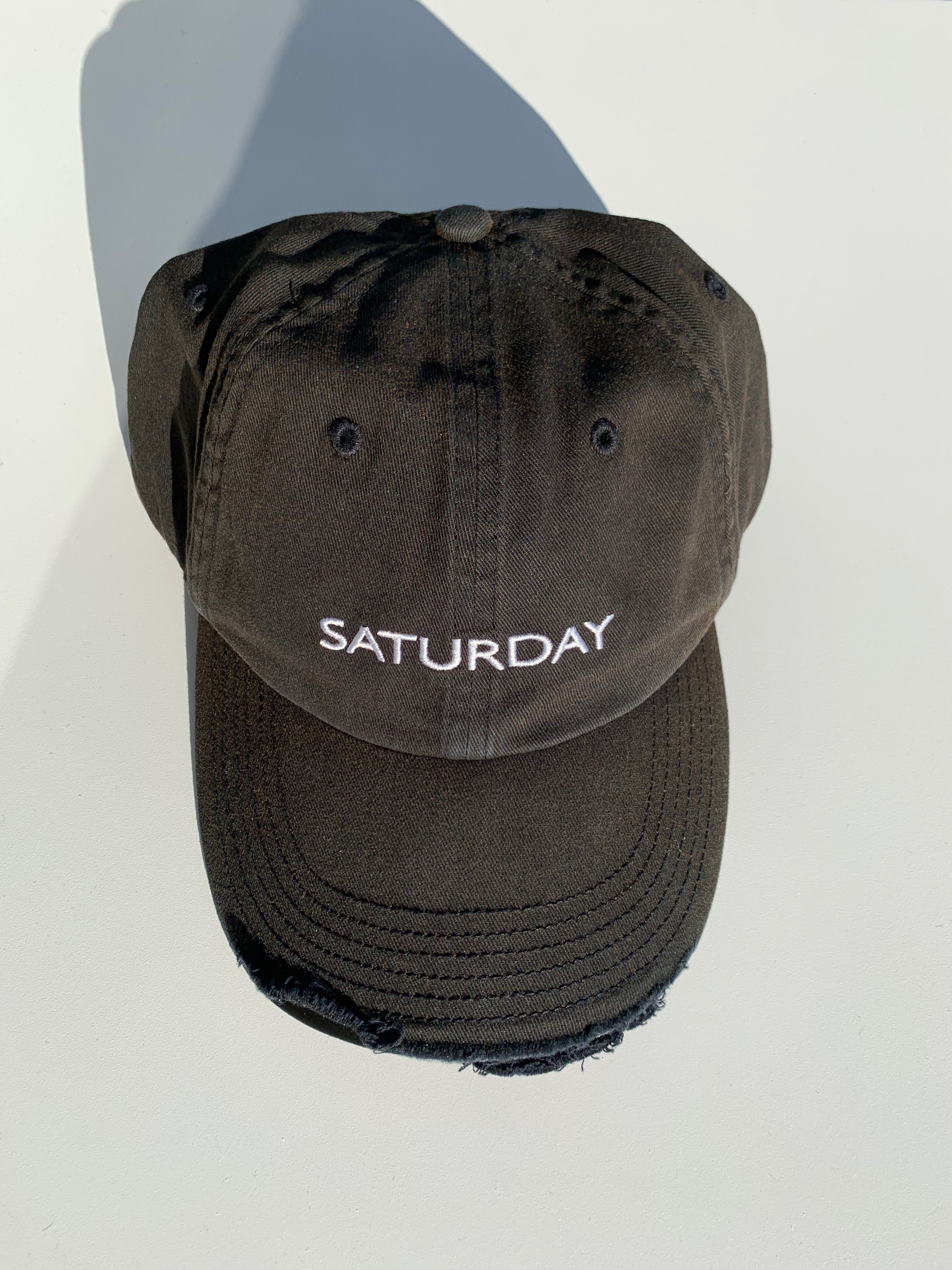 5754d89b2d73ea Vetements New. Black Reebok Edition 'saturday' Weekday Cap | Grailed