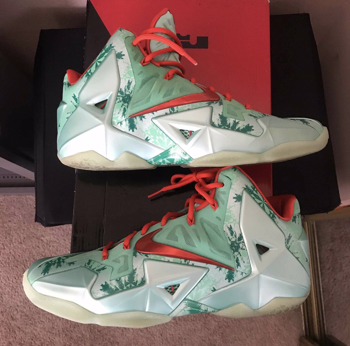 ef403d0ee4685 Nike Nike Air Lebron 11 XI CHRISTMAS Holiday Pack Size 11 Size 11 - Hi-Top  Sneakers for Sale - Grailed