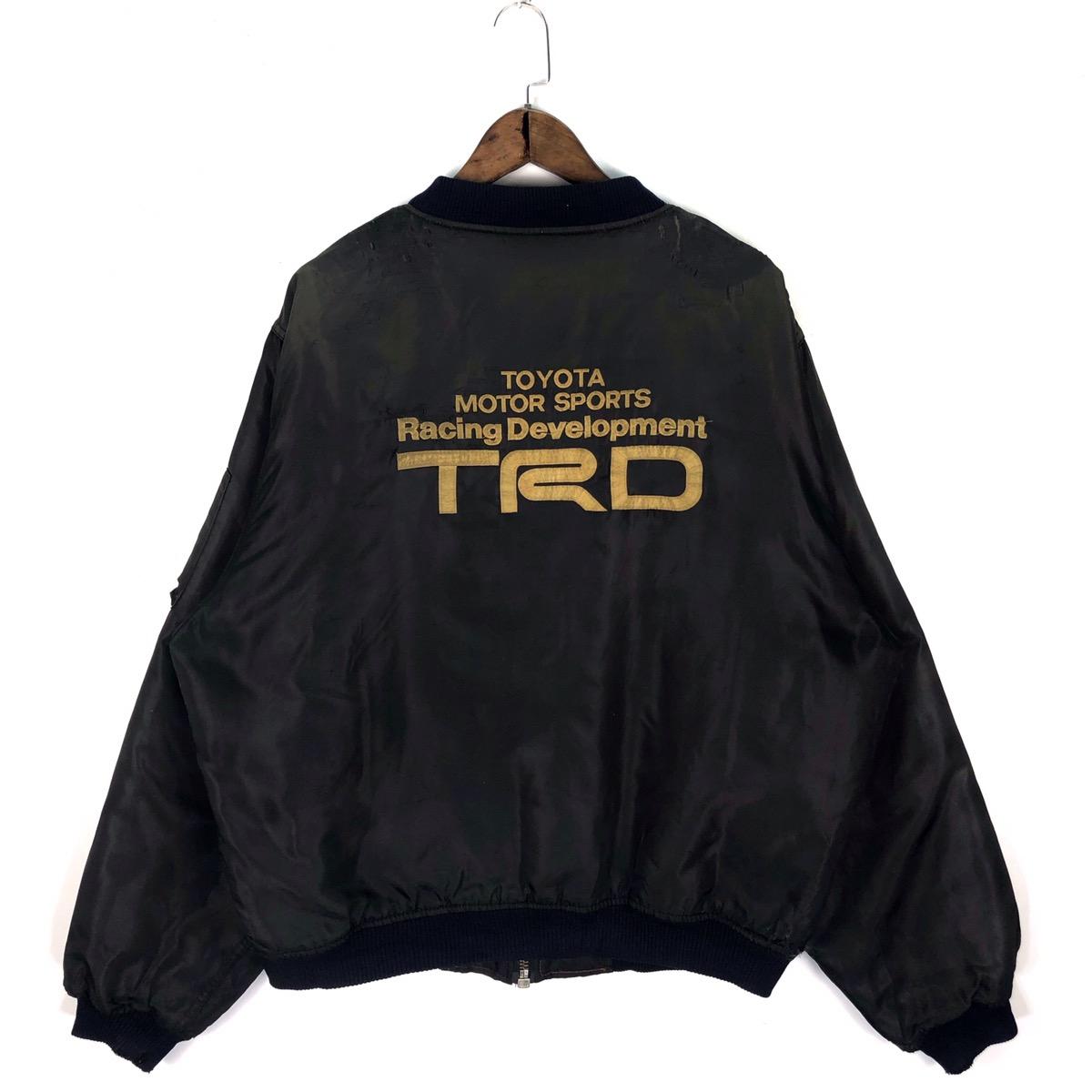 Vintage Vintage Toyota Motorsport Trd Racing Bomber Jacket Grailed