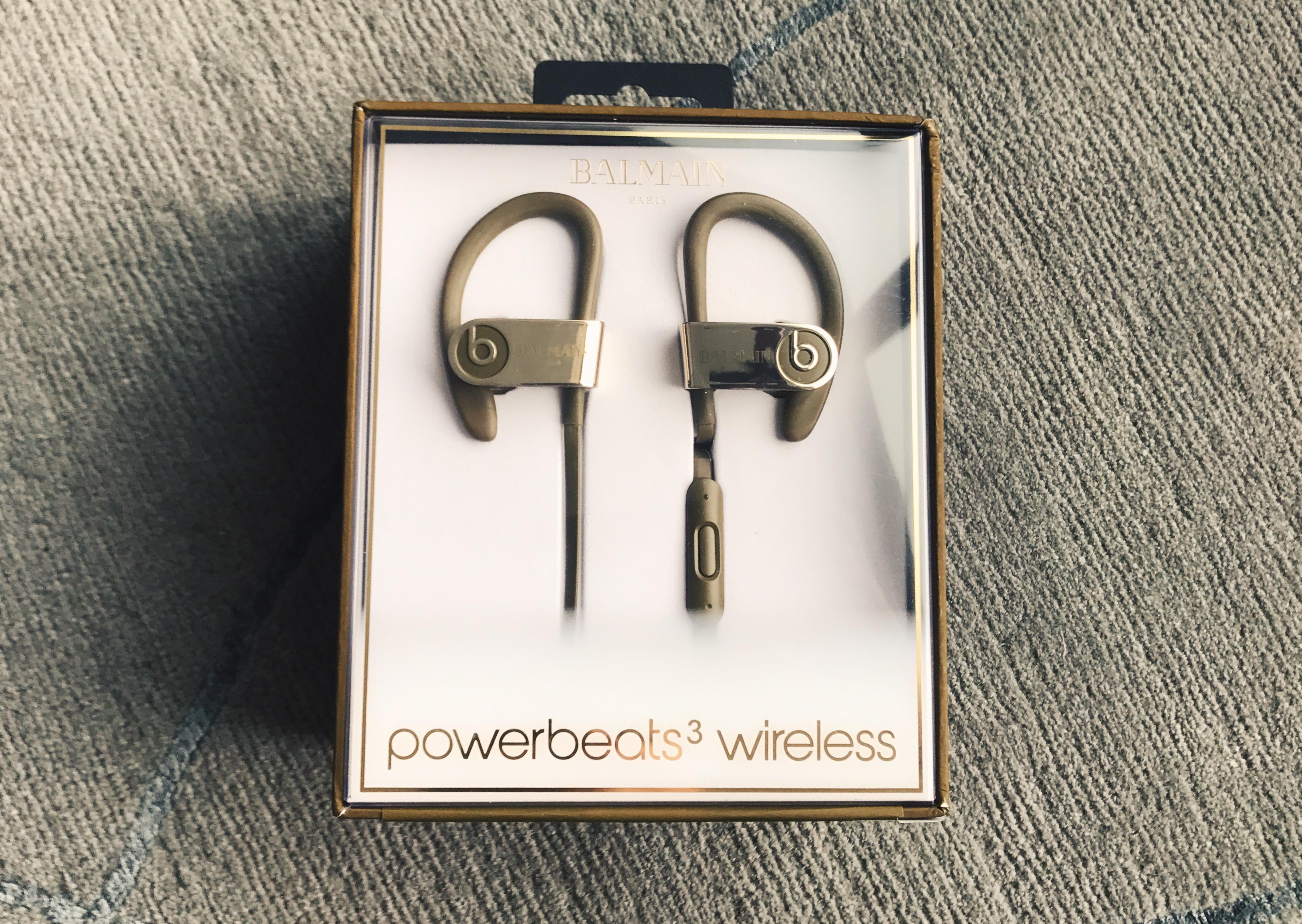 8fa3445ef12 Balmain Balmain X Beats Powerbeats 3 Wireless Headphones   Grailed
