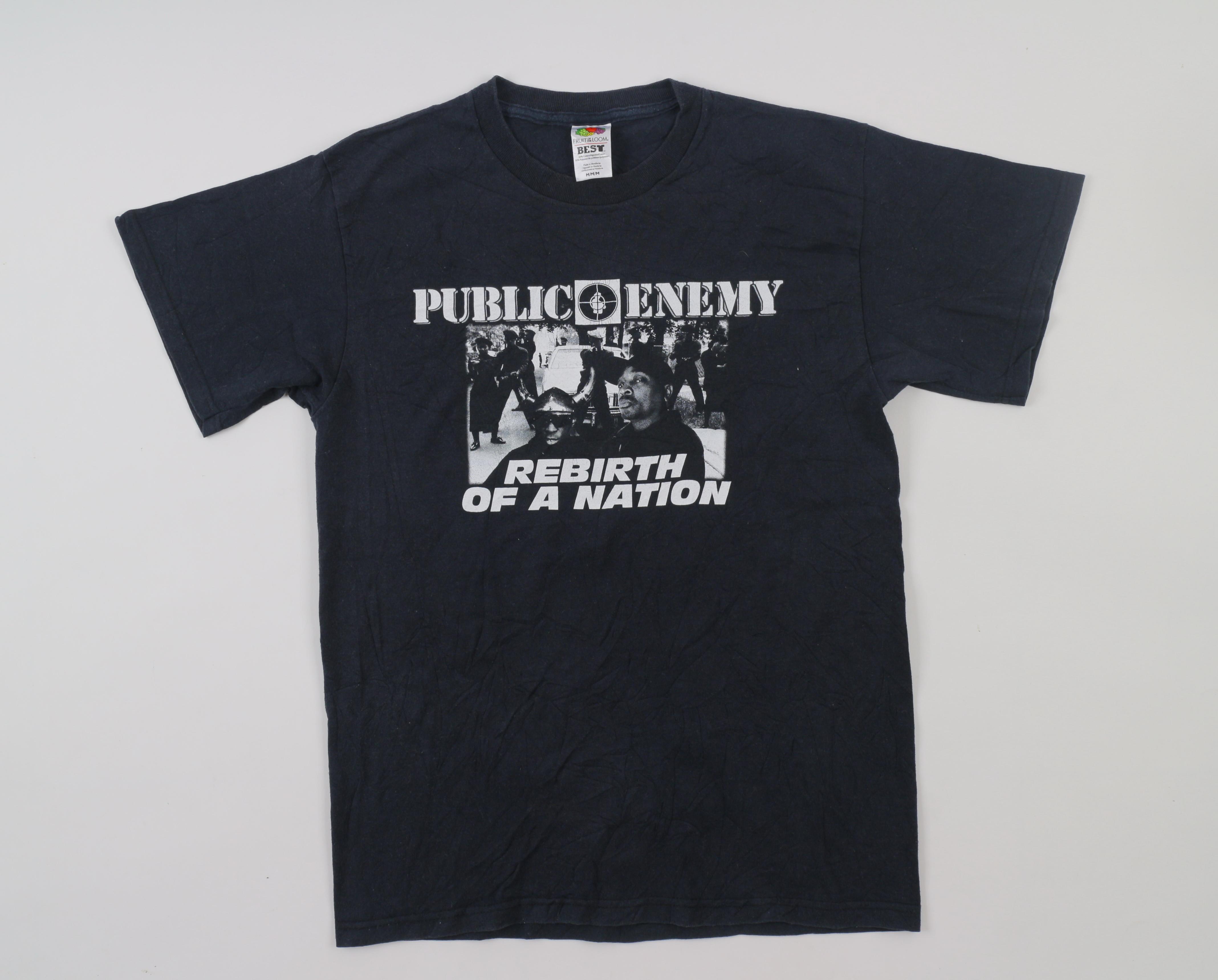 Hot Style Public Enemy  T Shirt