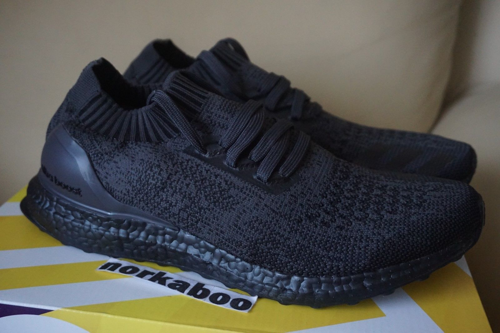 8f9e928f625 Adidas Adidas Ultra Boost Uncaged Triple Black BA7996 Size 10 - Low-Top  Sneakers for Sale - Grailed