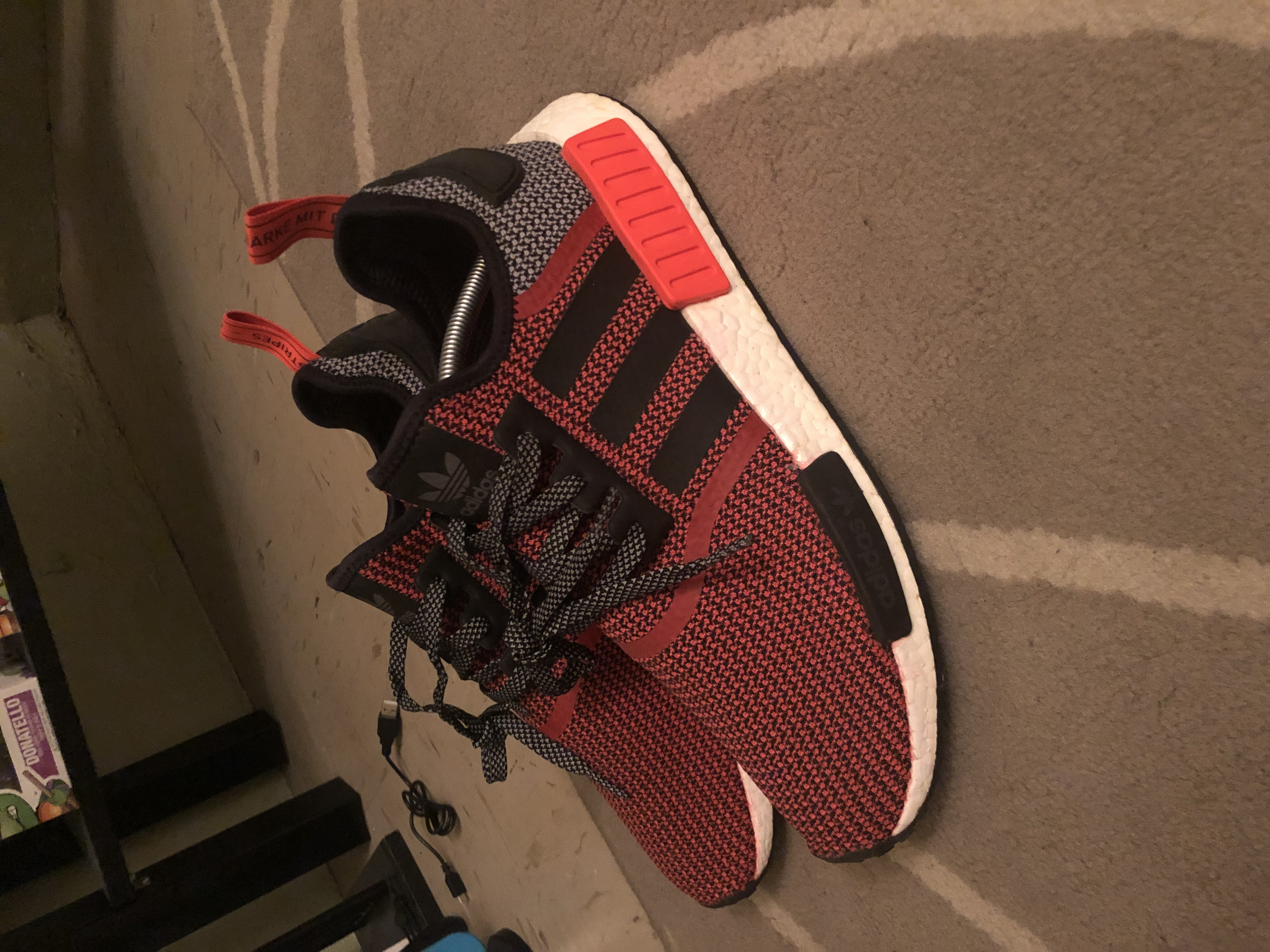 a3a2765292e78 Adidas Adidas Nmd R1 Lush Red Kith Yeezy Supreme Off-white Boost 700 ...