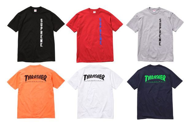 cheap for discount 5315a 63804 Supreme Thrasher Tee   Grailed