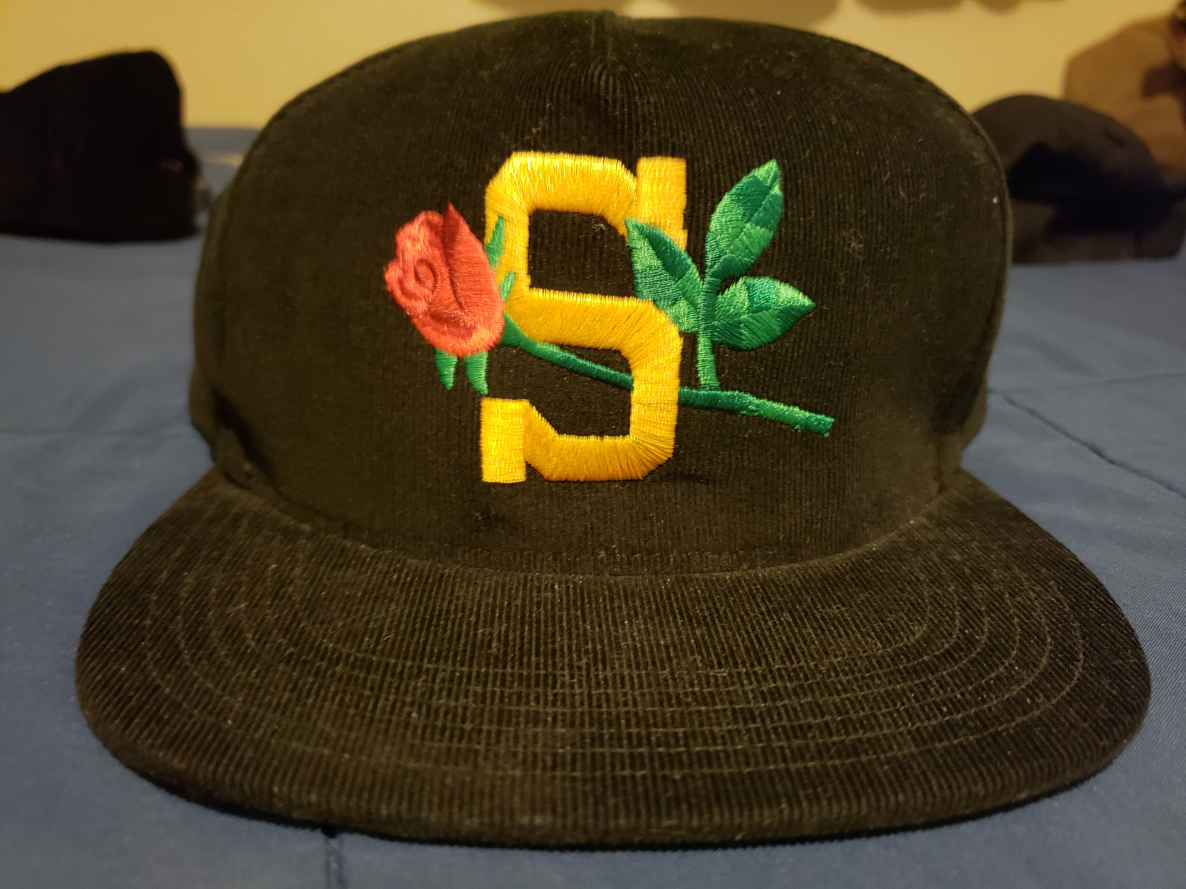 Supreme Supreme Rose Corduroy Cap   Hat Size one size - Hats for ... 153434a32