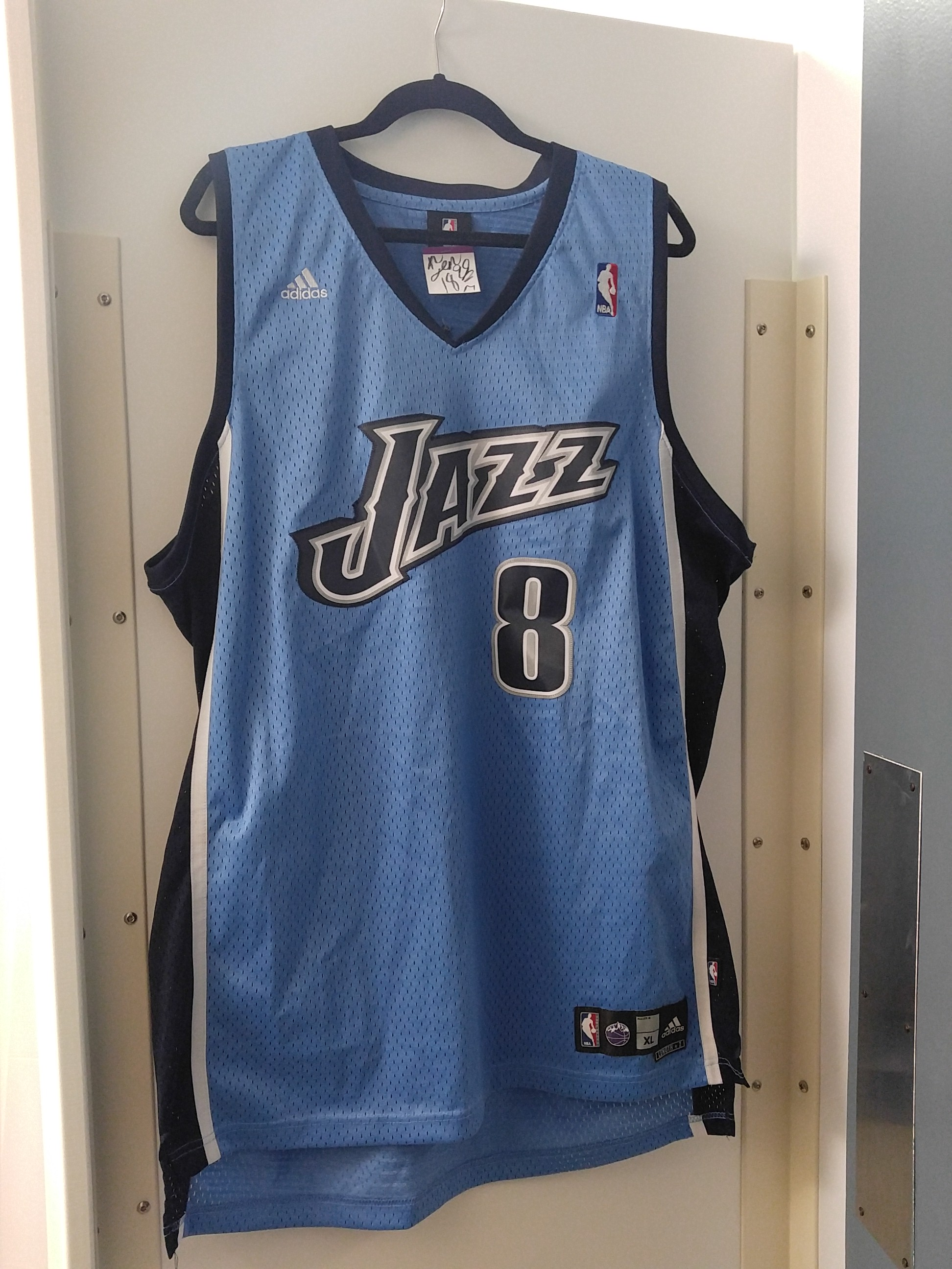 huge selection of d4931 9dd14 Deron Williams Utah jazz jersey