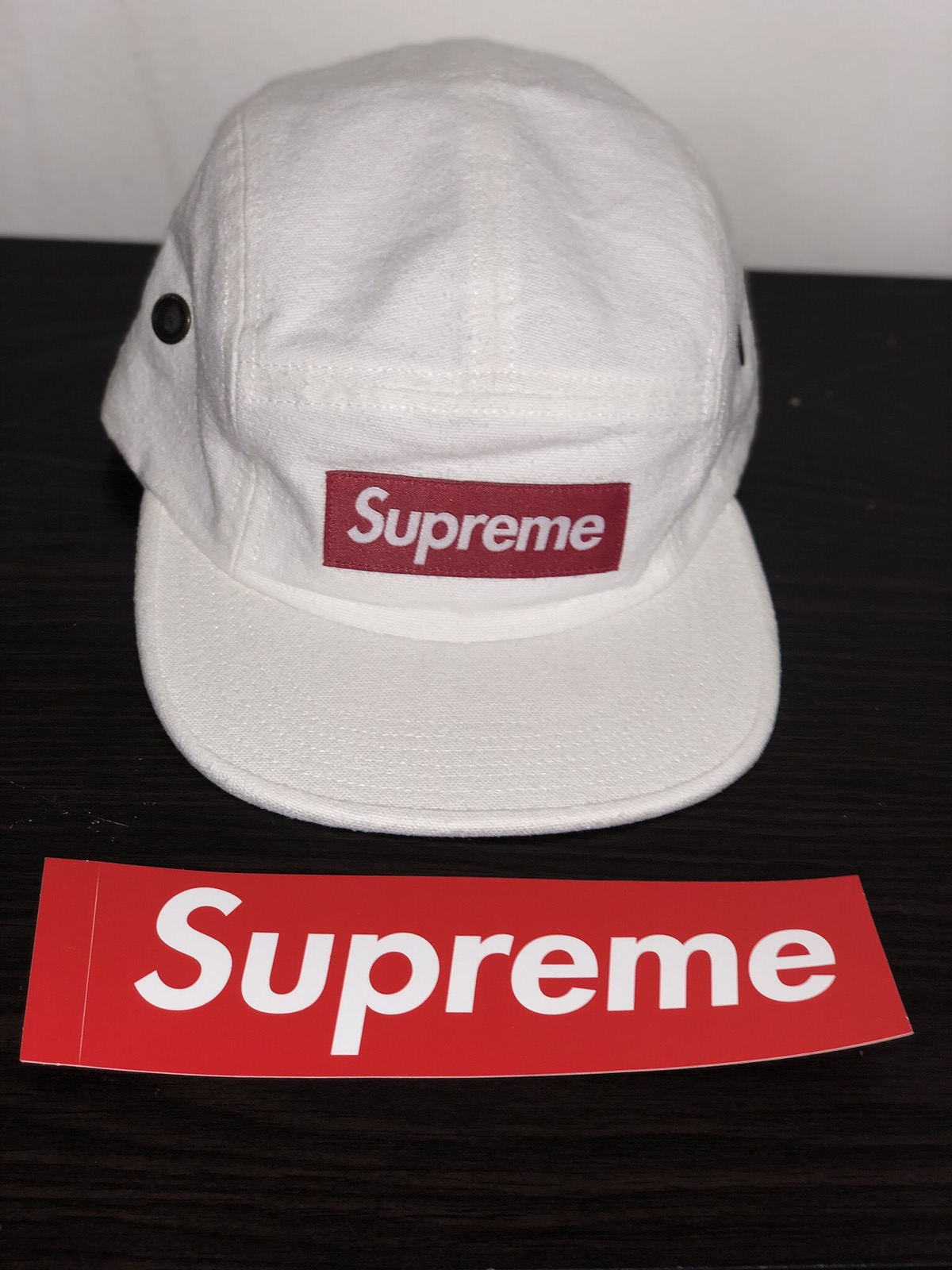 0fcde8a4ccf Supreme Napped Canvas Camp Cap White Size one size - Hats for Sale - Grailed