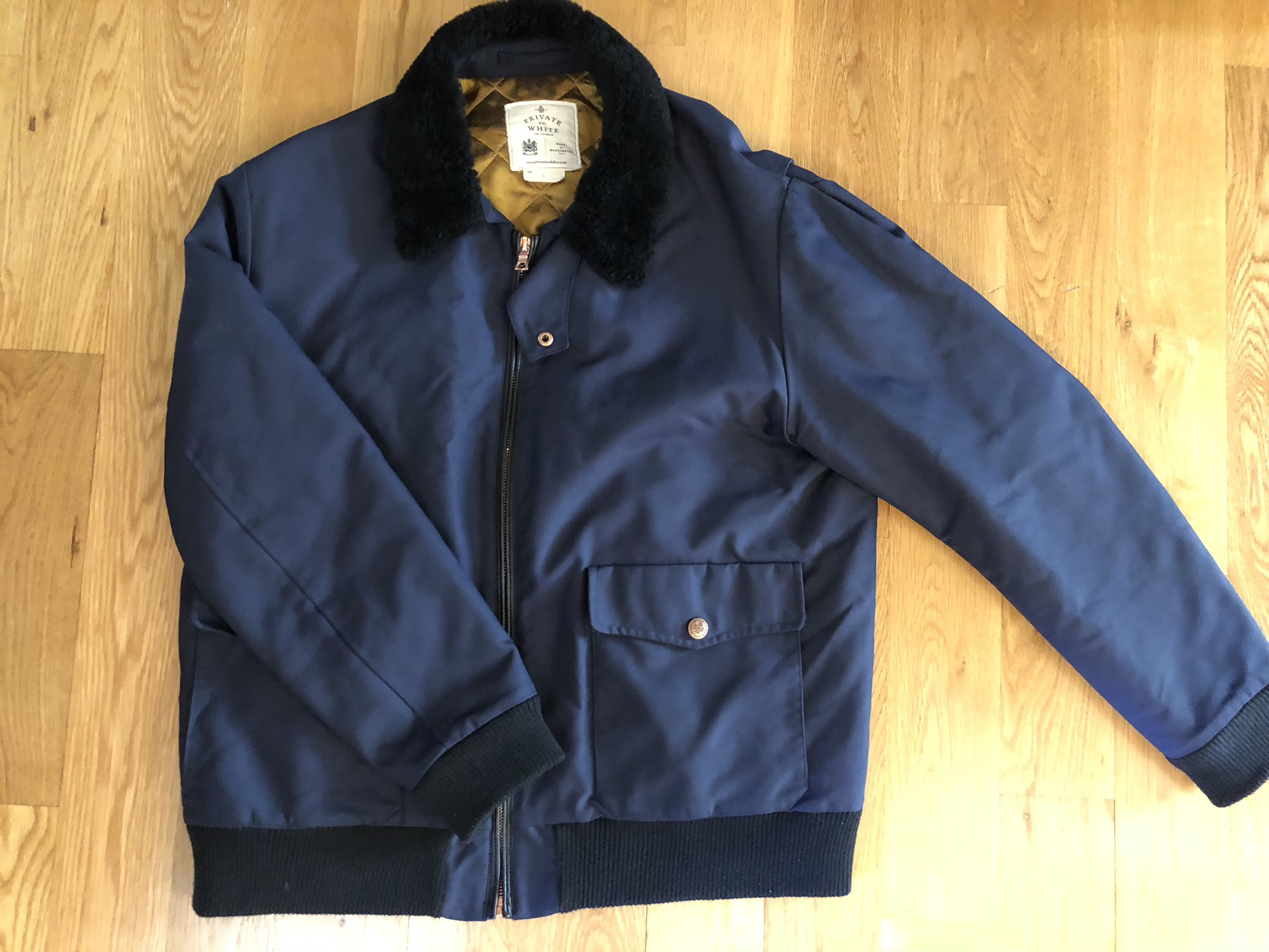 Good Prices closer at hot-selling newest Flight Jacket Navy