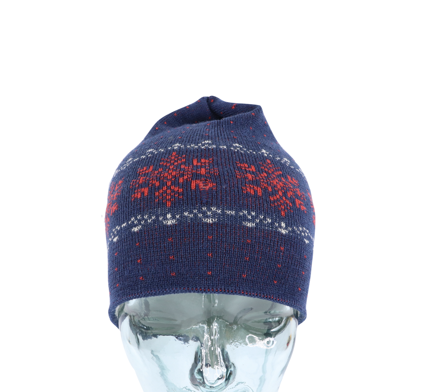 Winter snowflake wool hat