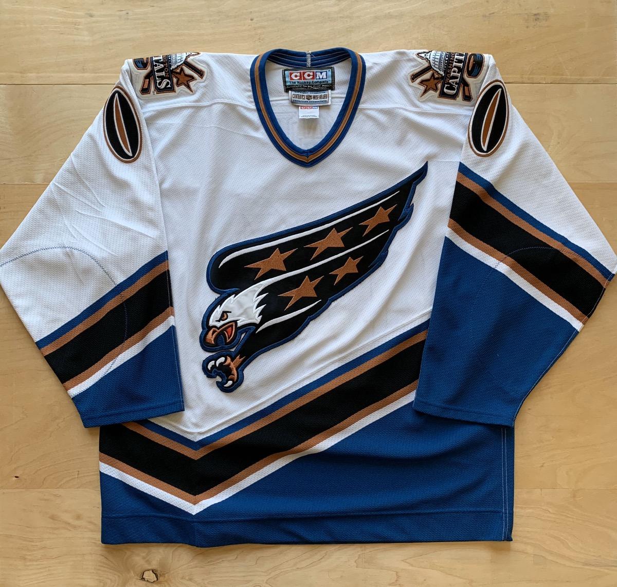 washington capitals retro jersey
