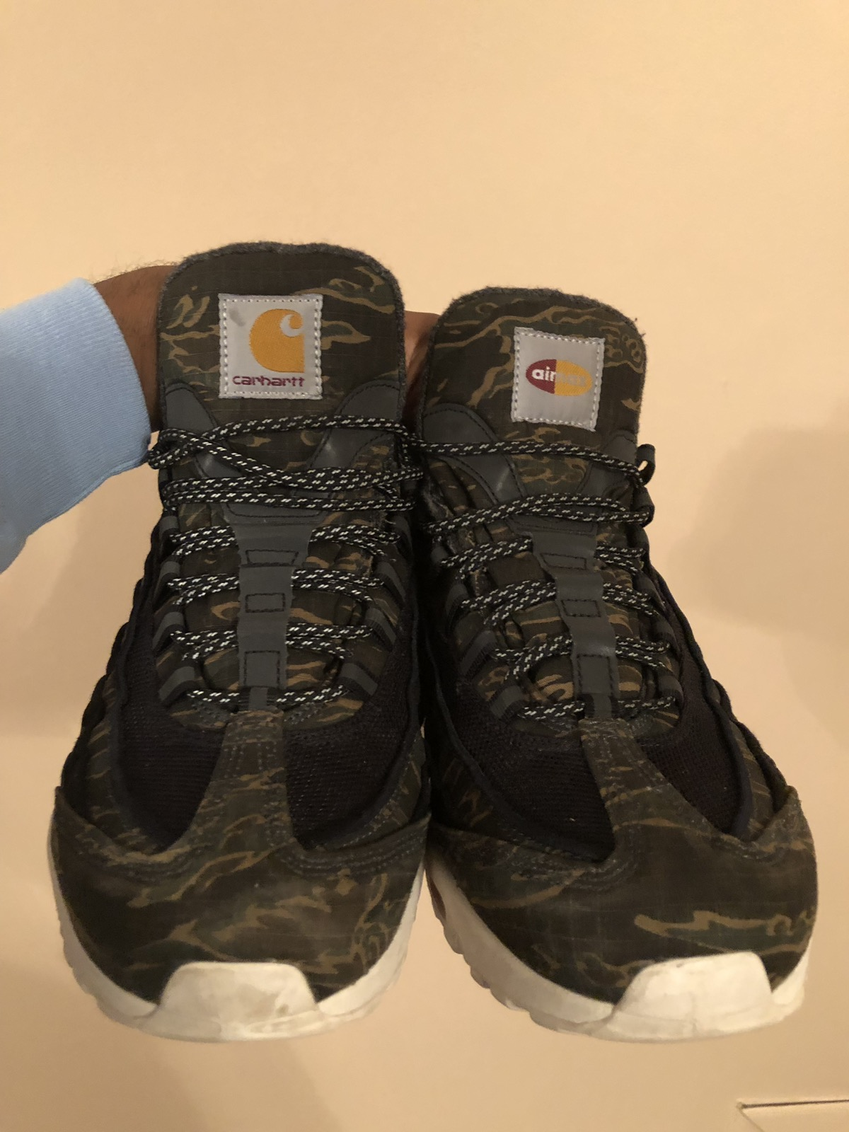 new style a59ee 71079 Carhartt X Nike Air Max 95