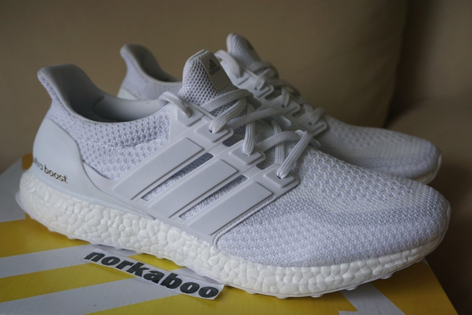 73584cf662f Adidas Adidas Ultra Boost M 2.0 Triple White Aq5929