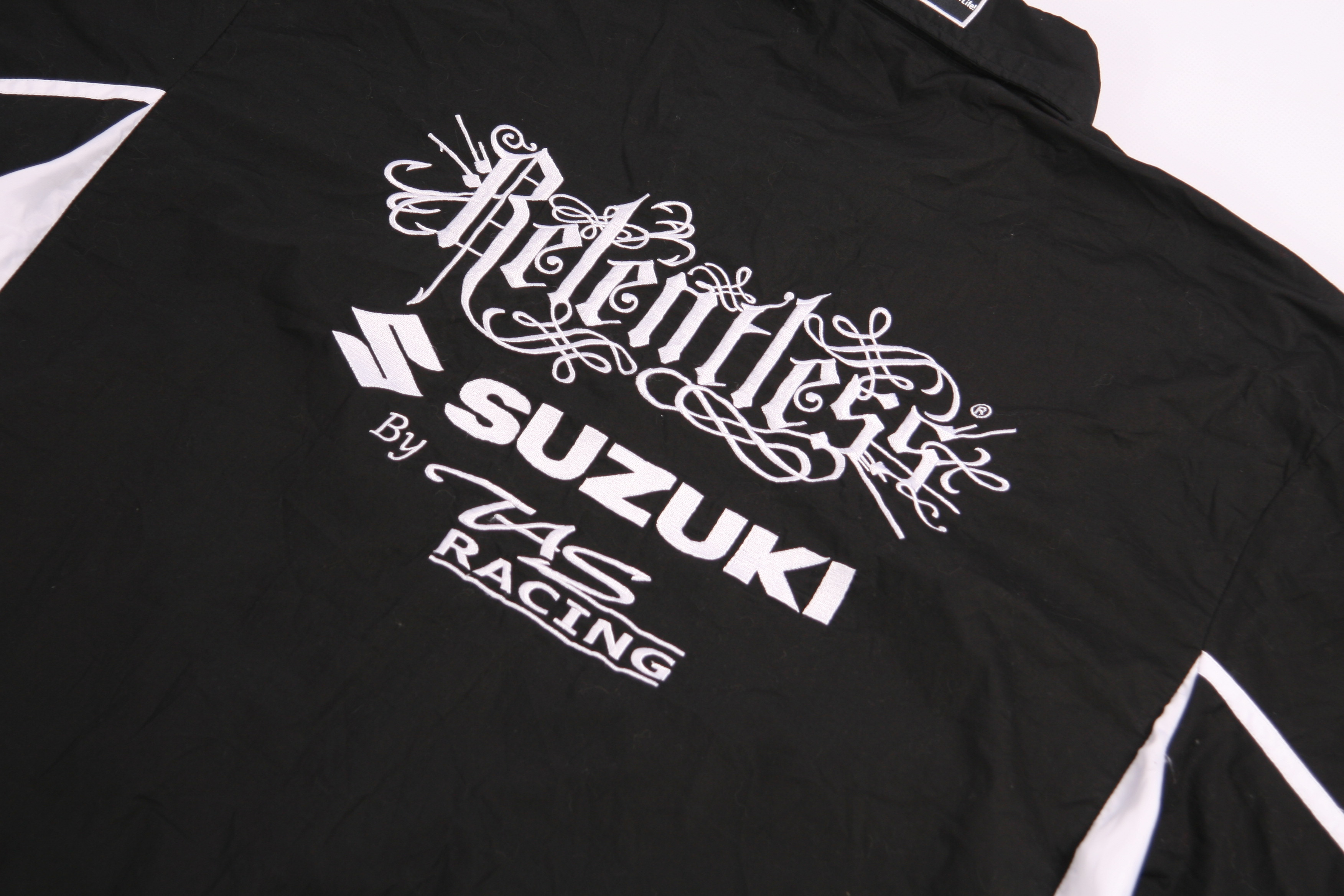 Vintage Relentless Suzuki Team Vntg Racing Embroidered Logo Shirt Grailed