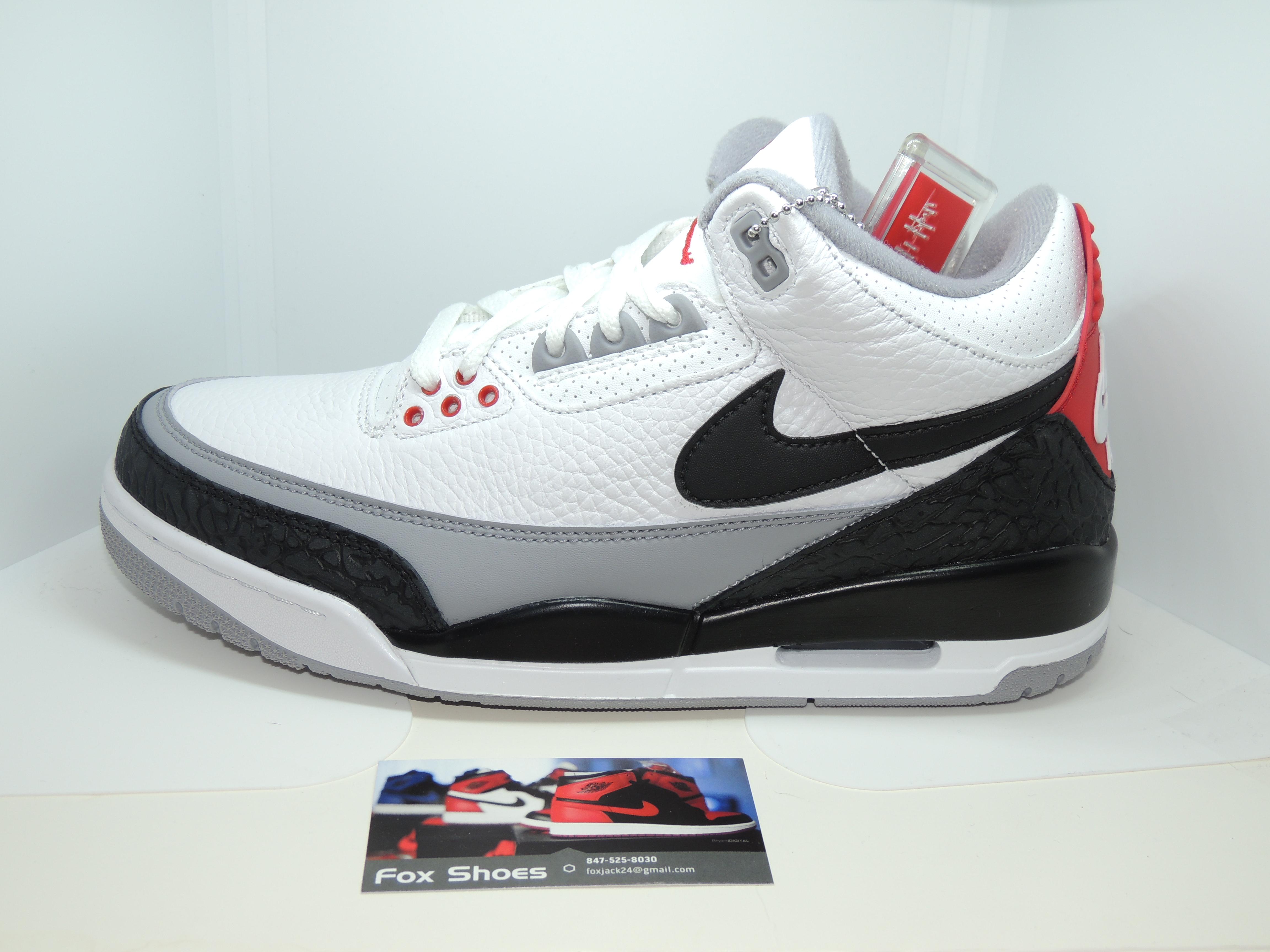 428f4163848b Jordan Brand ×. Nike Air Jordan Retro 3 NRG SZ 8.5 Tinker Hatfield White  Cement OG AQ3835-160