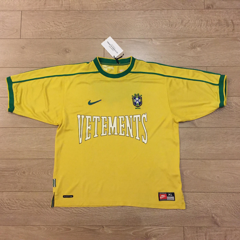 nouvelle version vaste sélection boutique de sortie Les Vêtements de Football Brazil Soccer Jersey XL