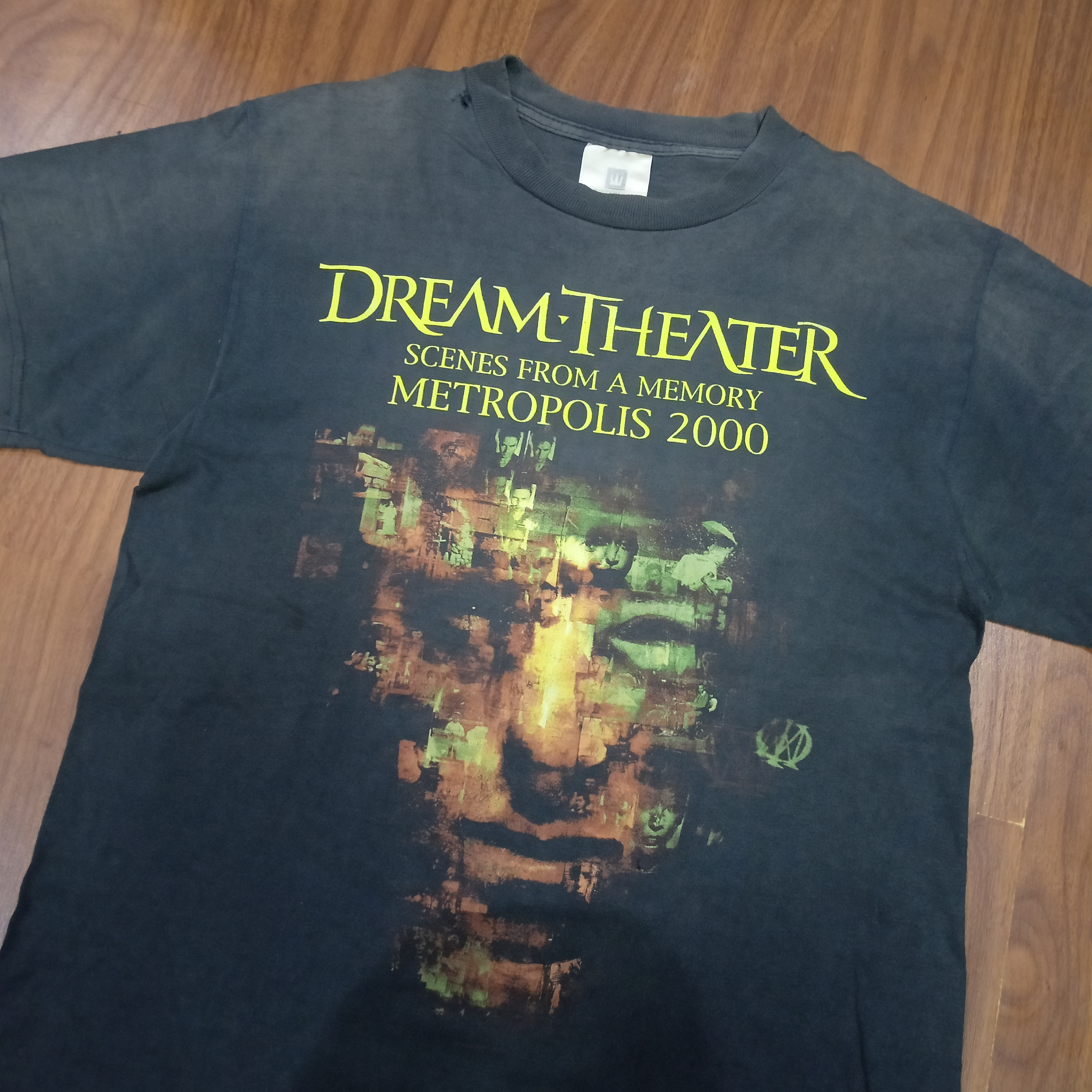 Vintage Dream Theater Scene From A Memory Metropolis 2000 T Shirt
