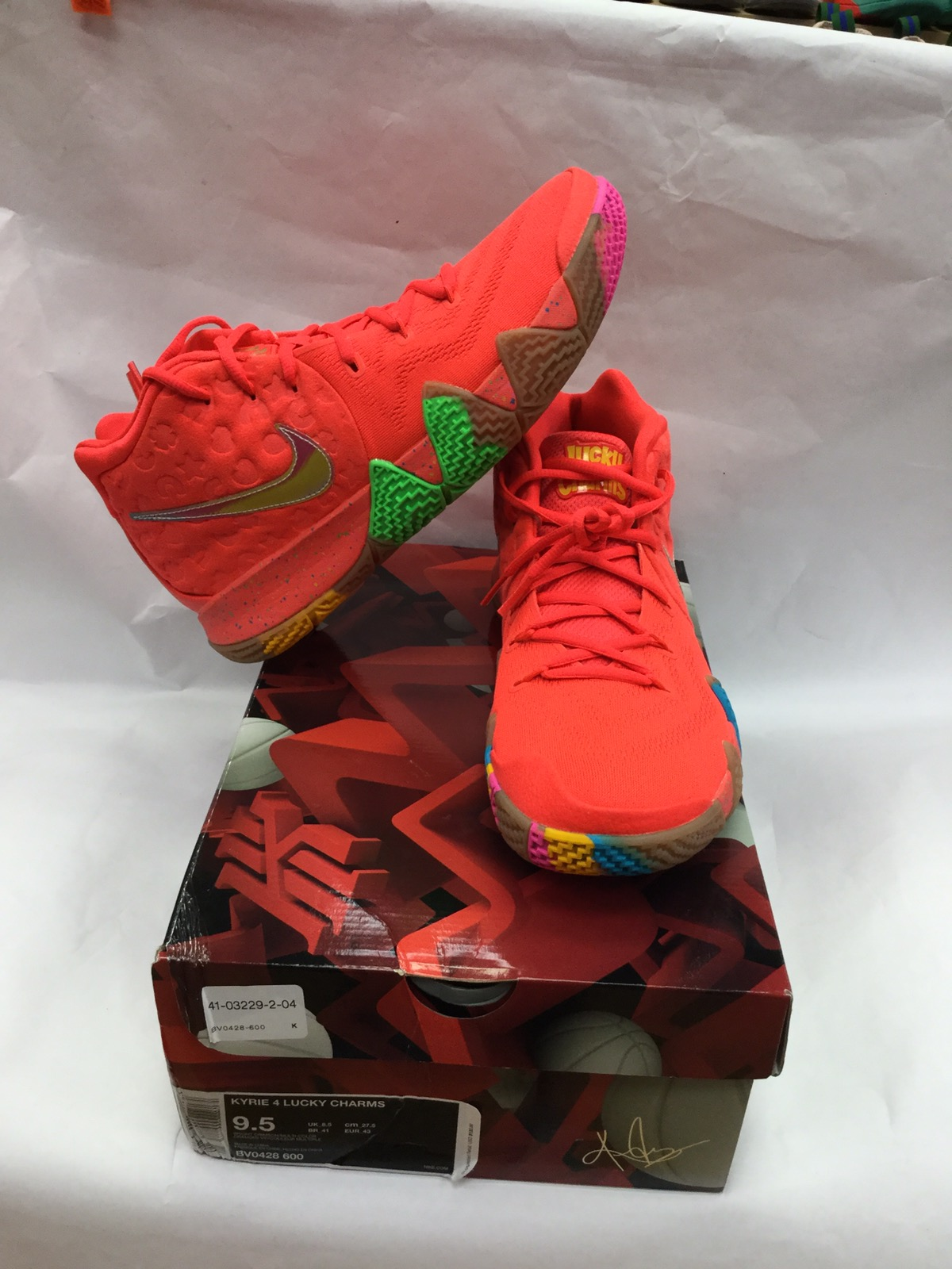 size 40 83512 1953f Nike Kyrie 4 Lucky Charms Cereal Edition