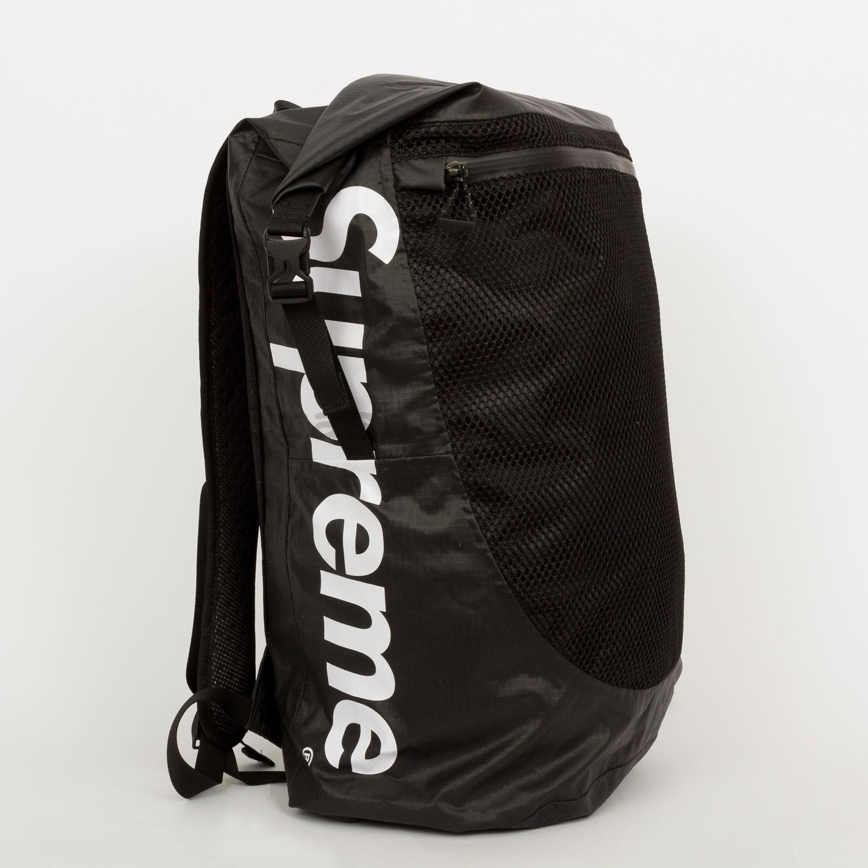 f0e5c05da Supreme x TNF Waterproof Backpack Black SS17 Cordura Shoulder Waist Canada