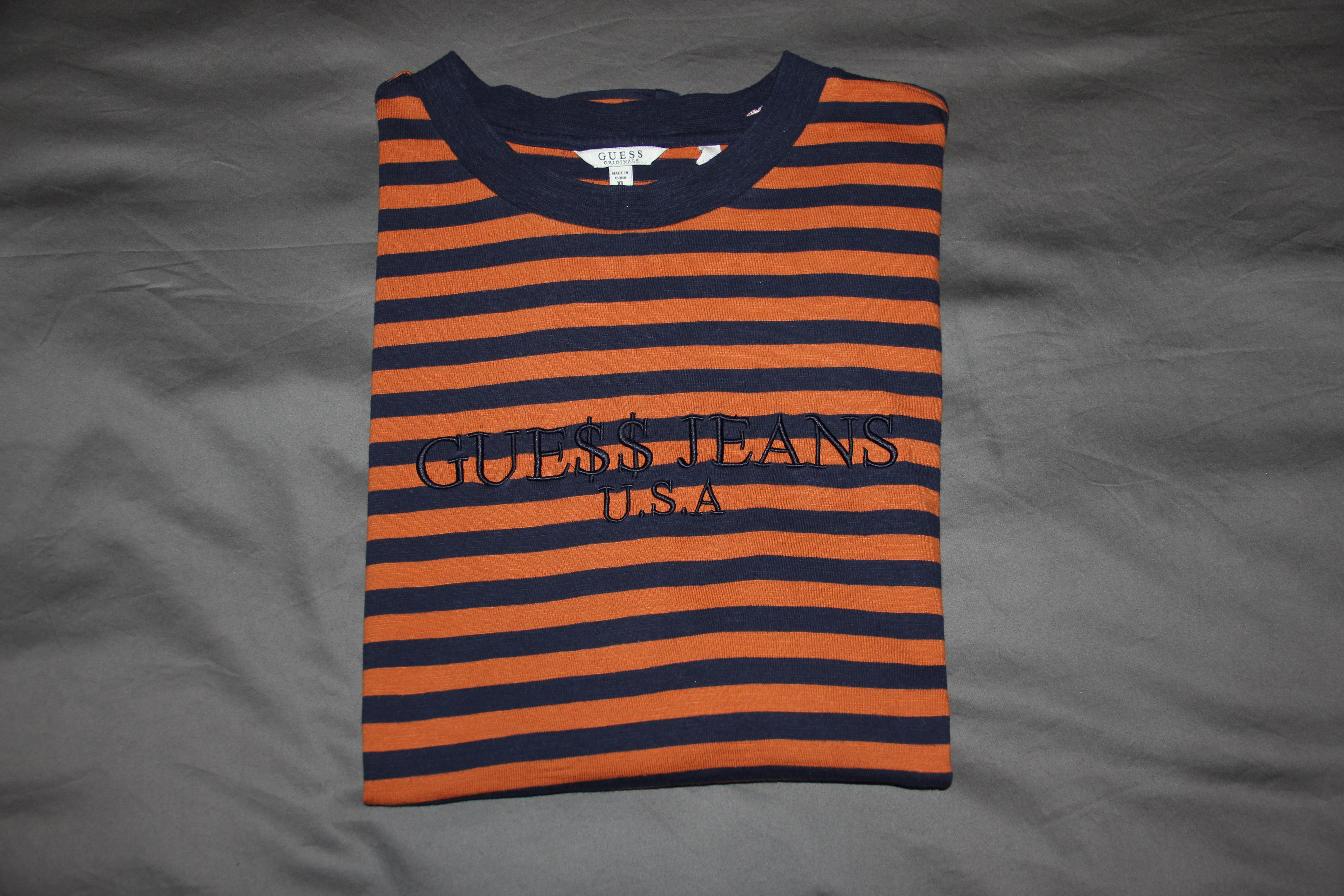 9b543ea8b4 Guess Guess Jeans Asap Rocky T-shirt (blue, Orange, Size Xl)   Grailed