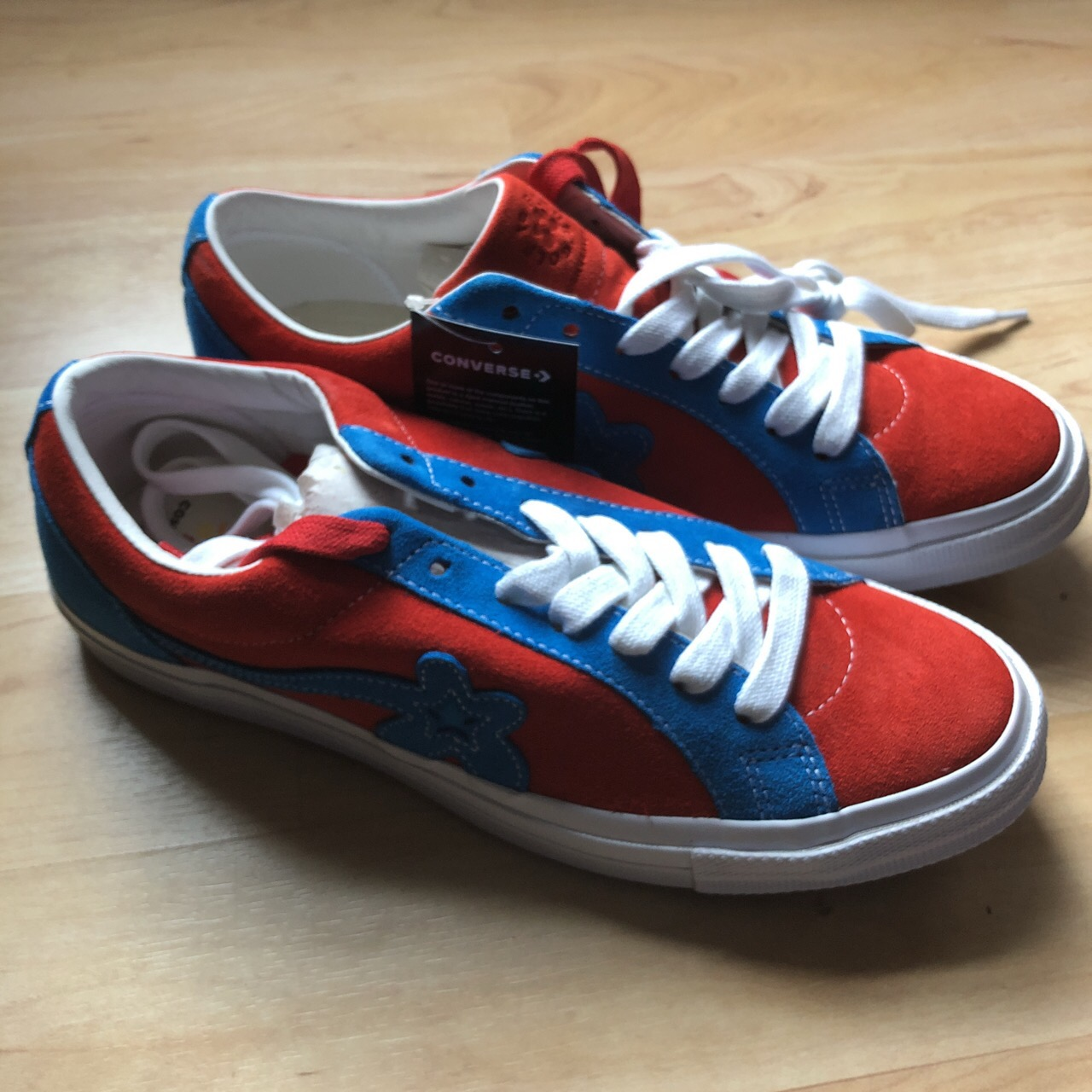 Converse Golf Le Fleur Red And Blue Grailed