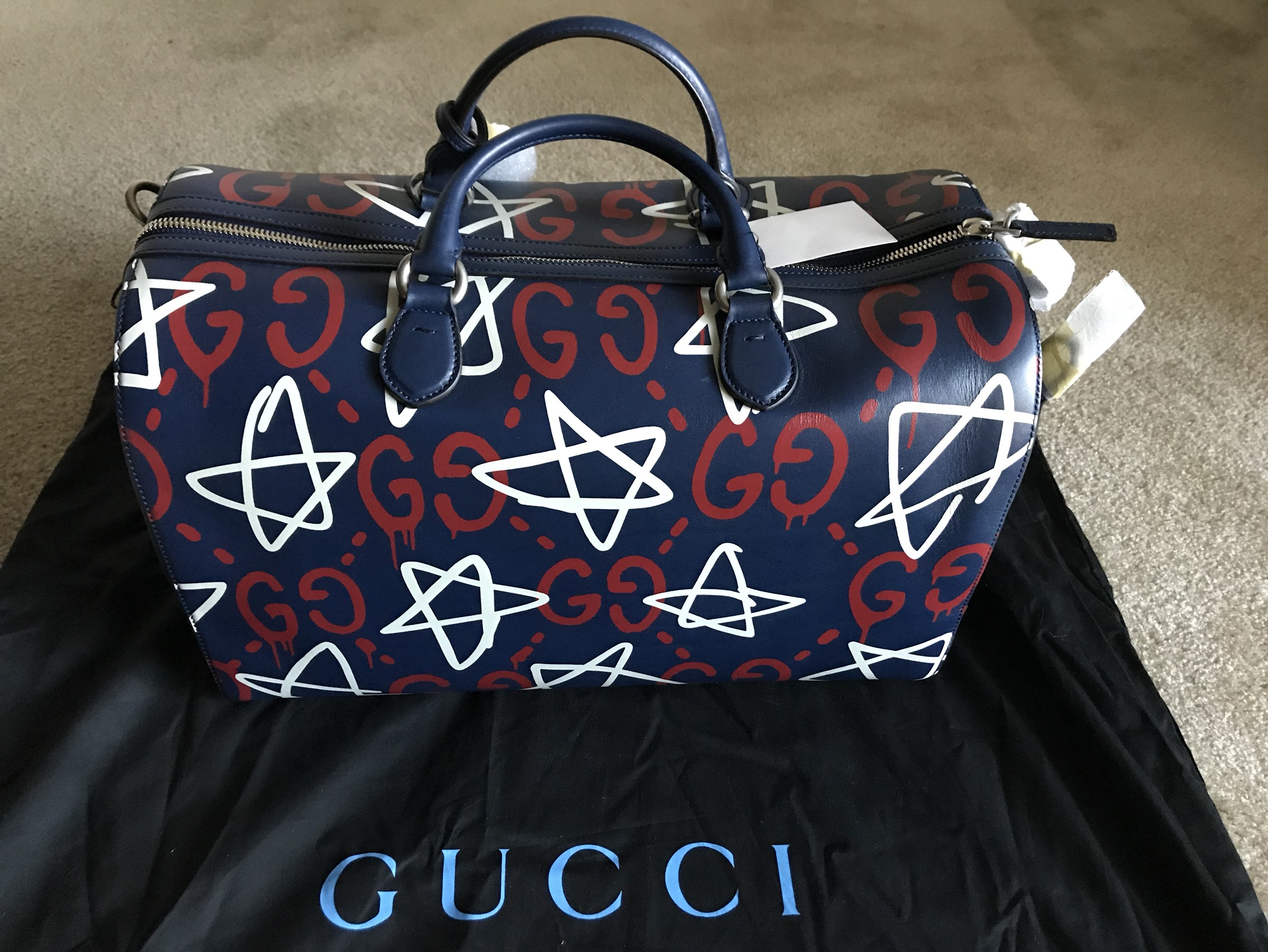 09c670b1516947 Gucci GucciGhost duffle Size one size - Bags & Luggage for Sale - Grailed