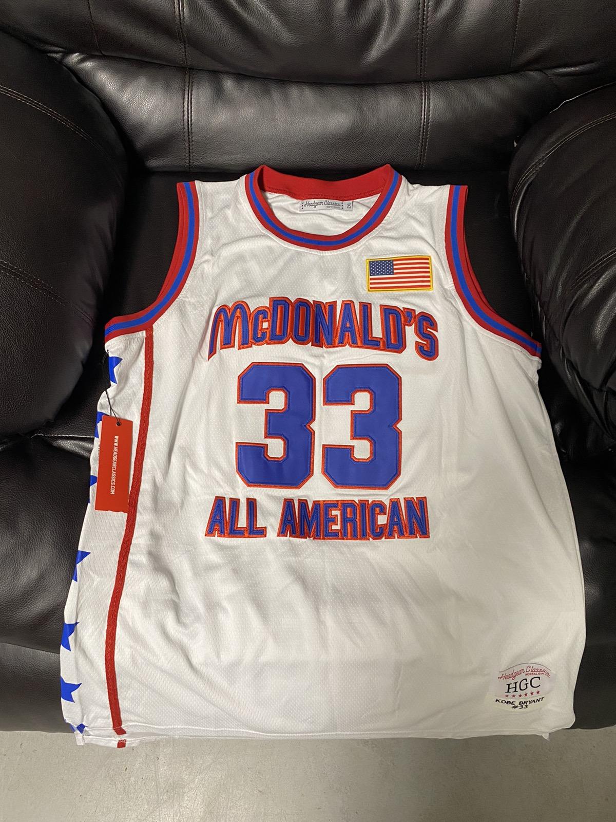 NBA Kobe Bryant McDonald's All American Jersey
